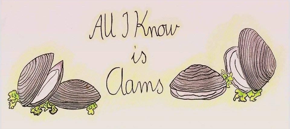 All I Know Is Clams – nettipäiväkirja