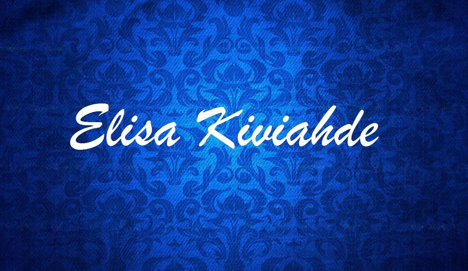 Elisa Kiviahde