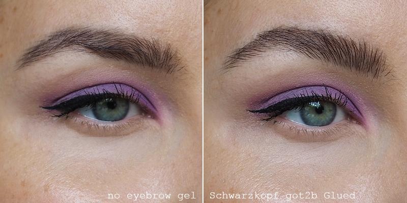 got2b Glued gel on eyebrows