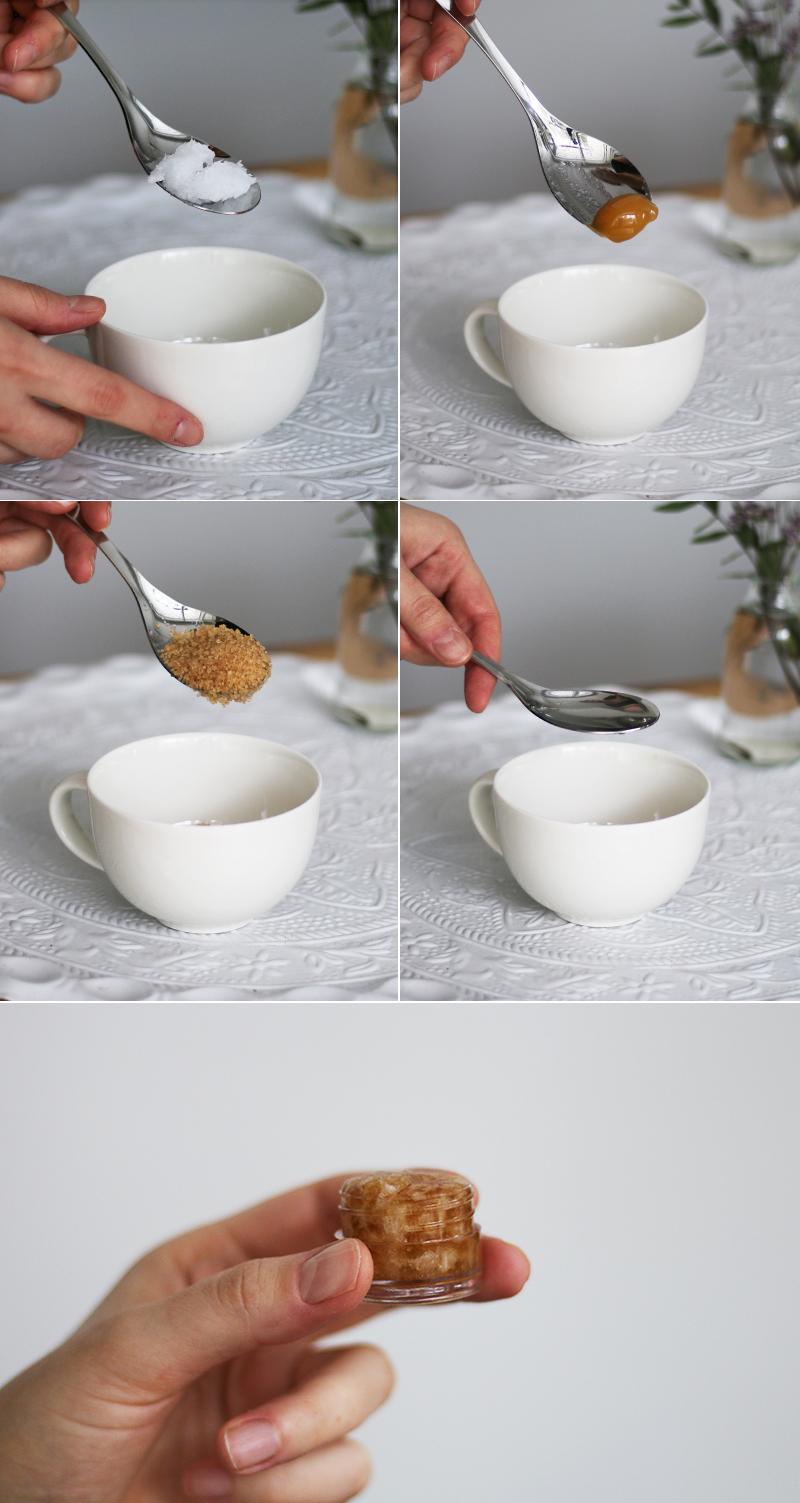 DIY-huulikuorinta