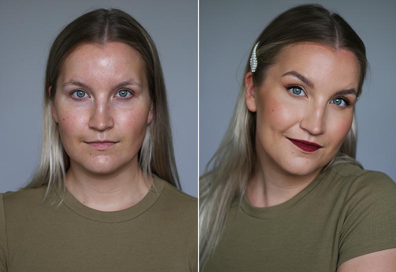 Tutorial: koko meikki markettien uutuuksilla