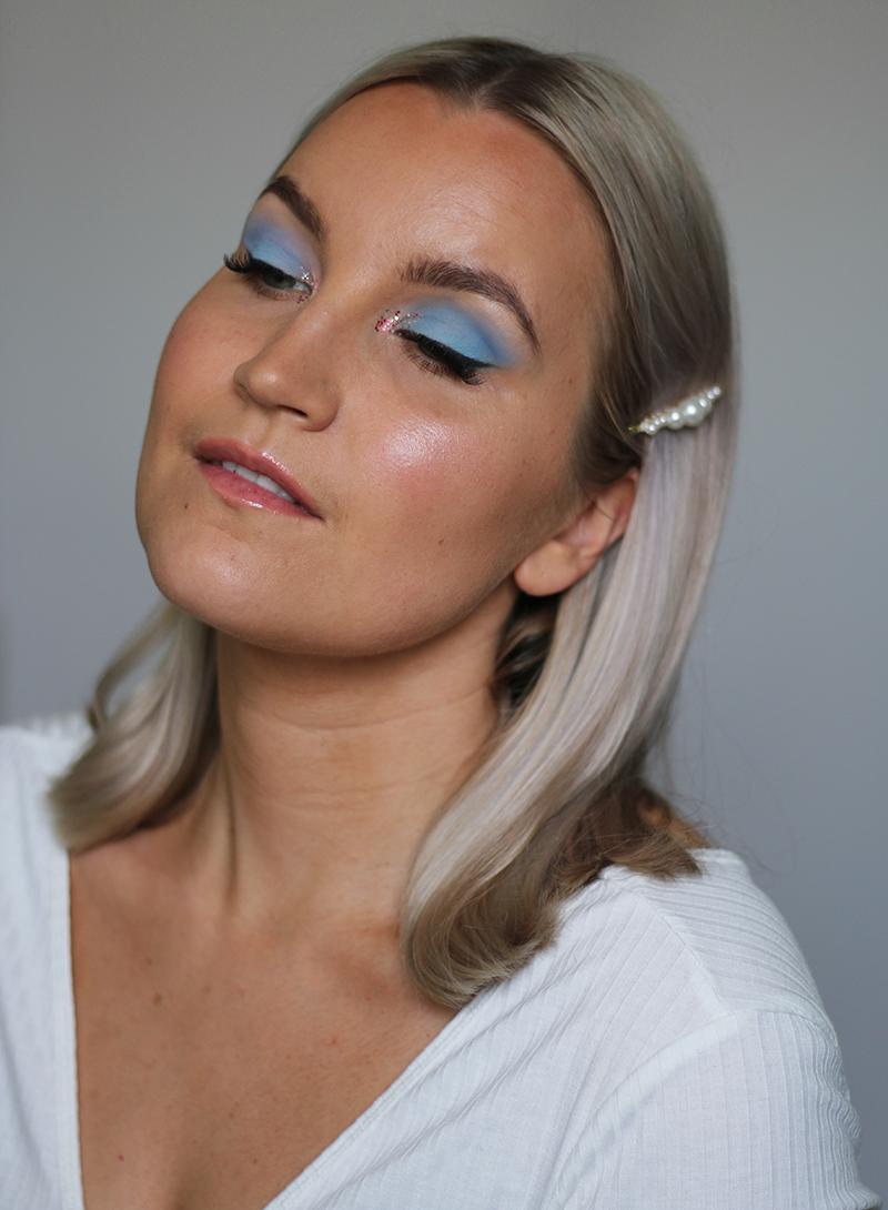 Päivän meikki: pastellia ja kimalletta