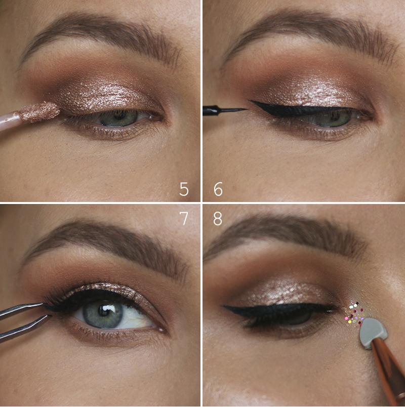 silmämeikki ohjeet tutorial