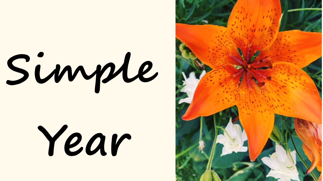 Simple year