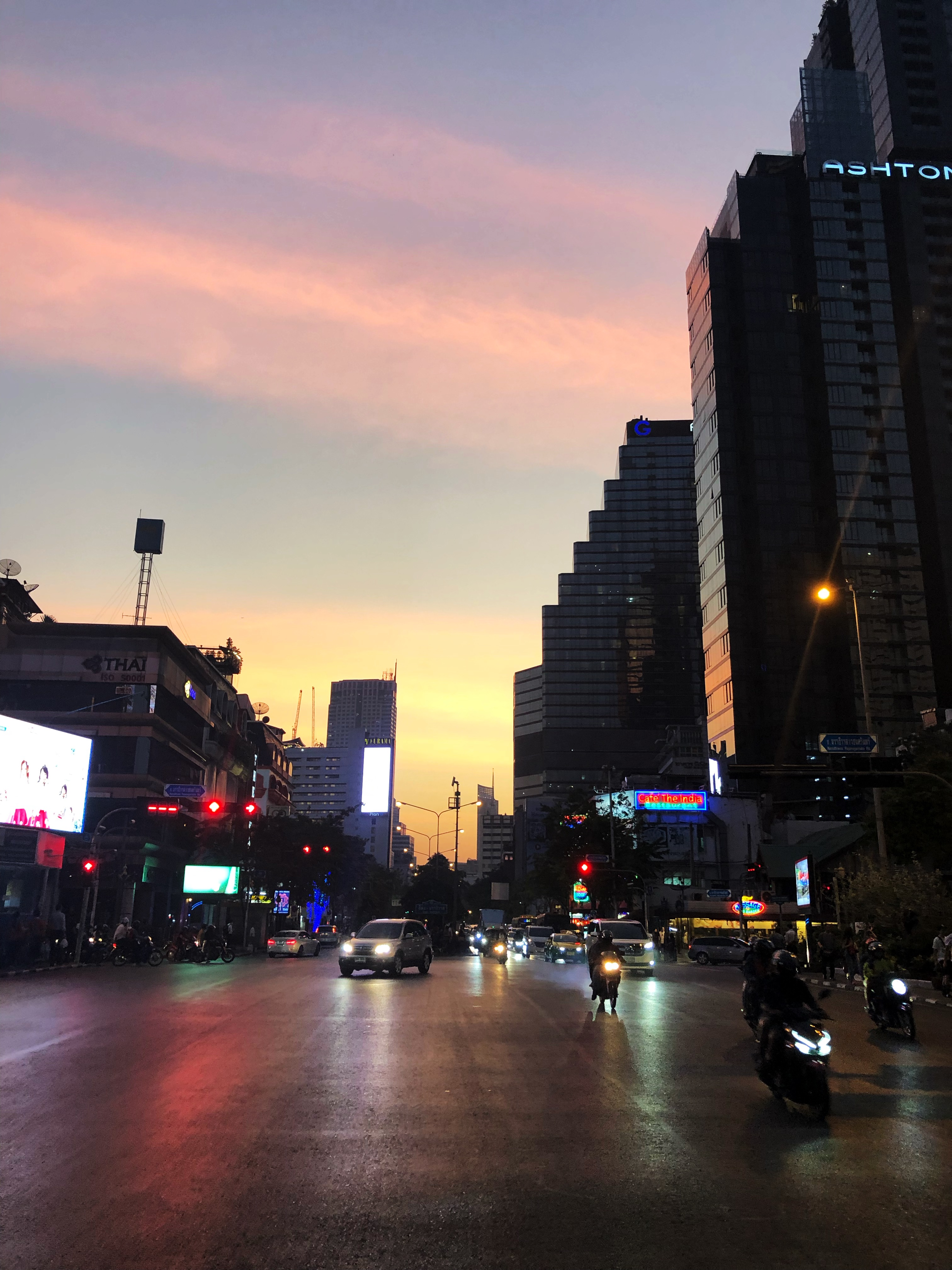 Bangkok-fiilikset (tai pikemminkin niiden puute)