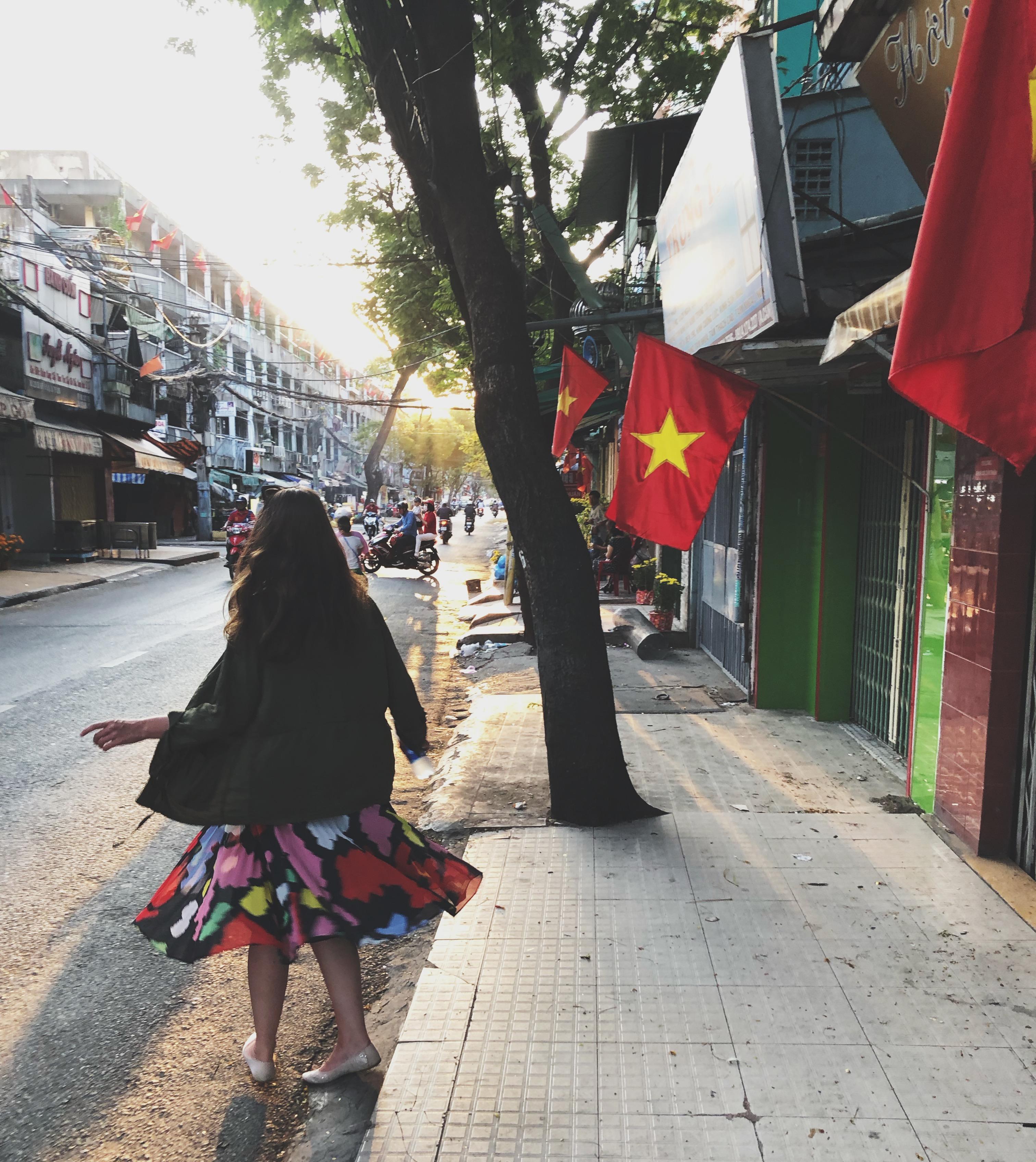 Muistiinpanoja Ho Chi Minh Citystä