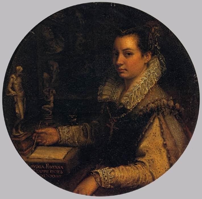 Une femme: Lavinia Fontana