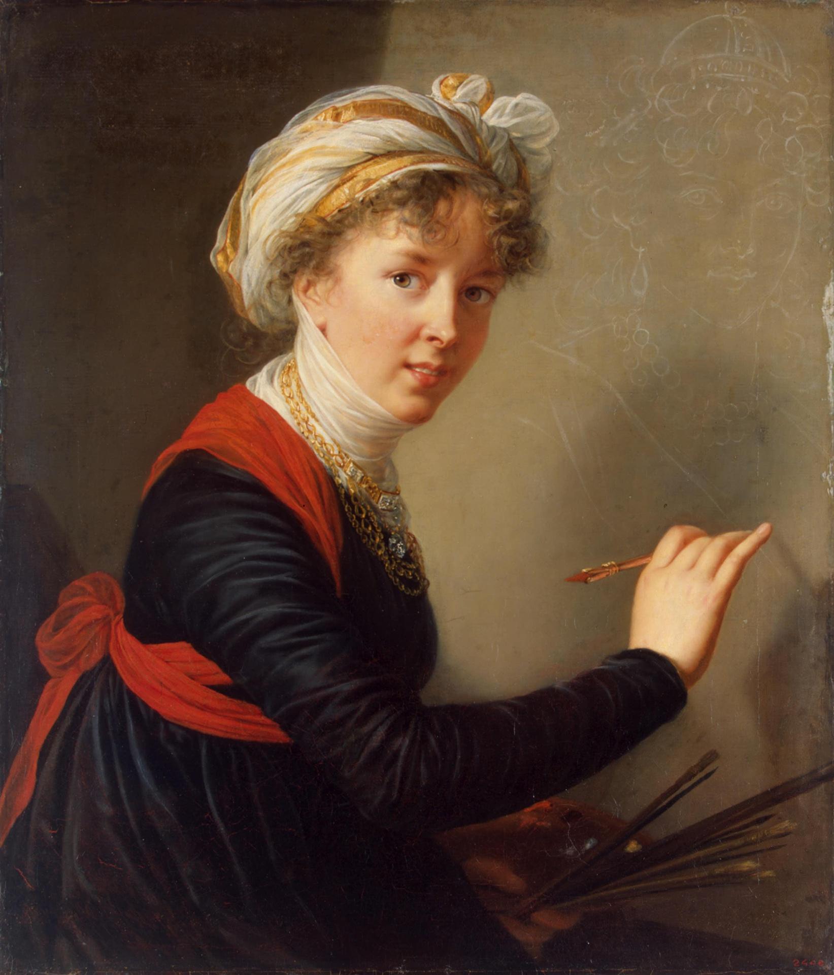 Une femme: Élisabeth Vigée-Lebrun