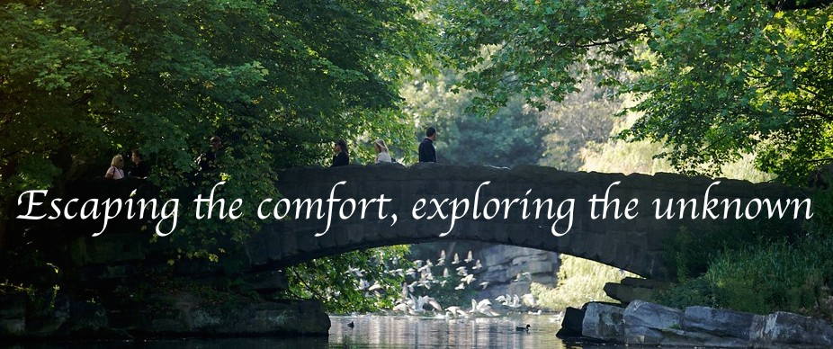 Escaping the comfort, exploring the unknown