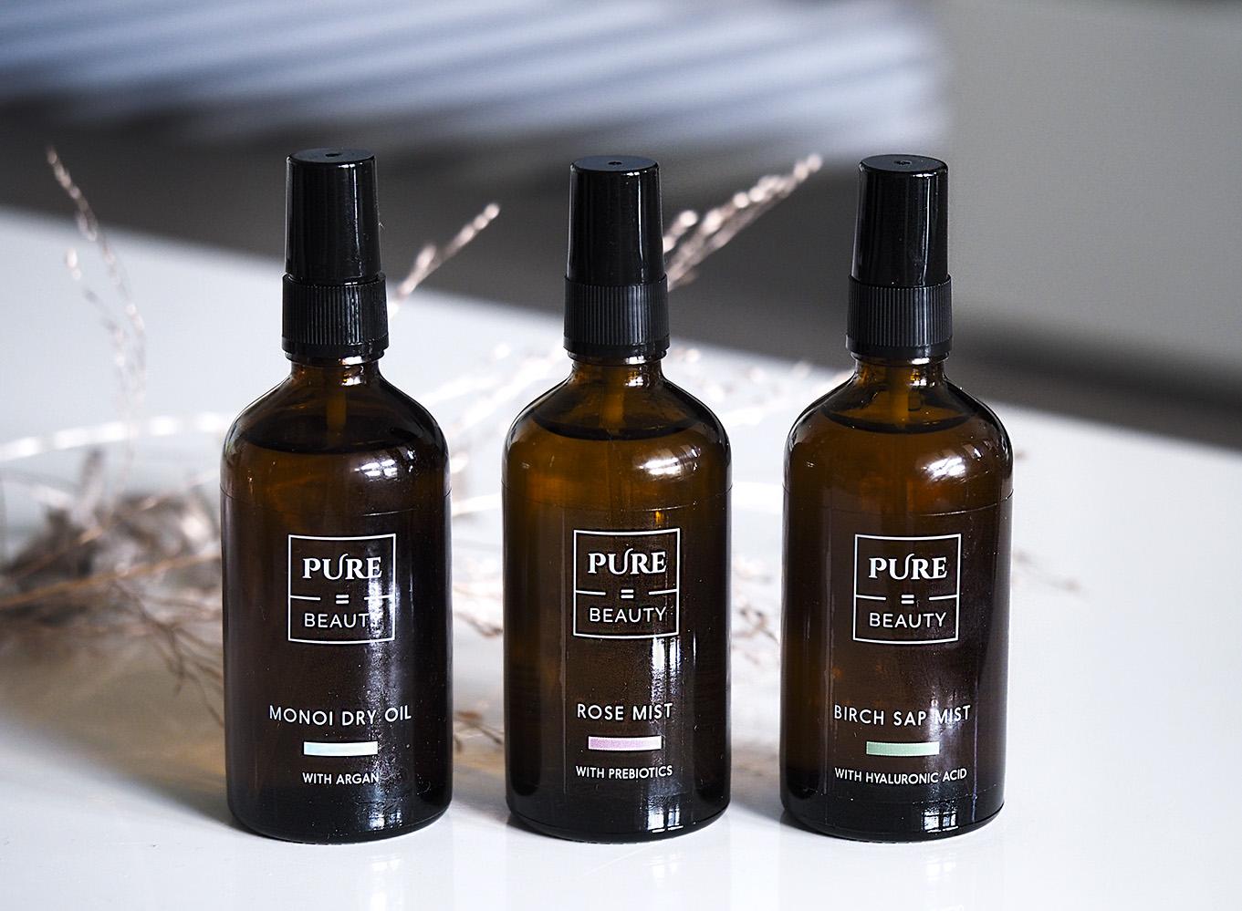 Uusi ihonhoitofilosofiani ja löytö: Uudet Pure=Beautyn kasvovedet