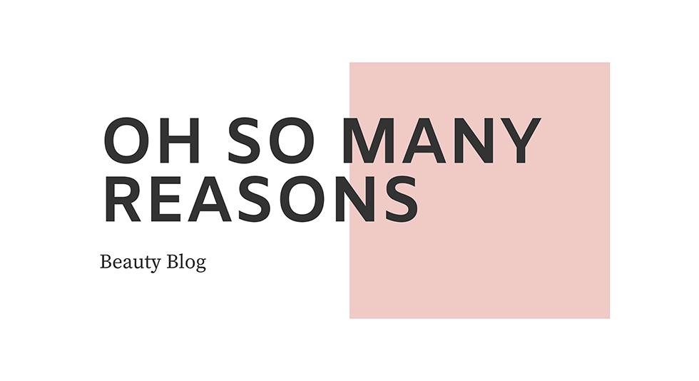 Oh so many reasons