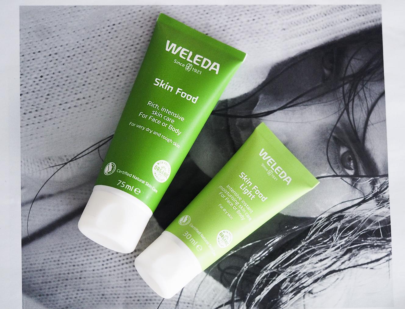 Kuivan ihon pelastaja –  edullinen Weleda Skin Food Light