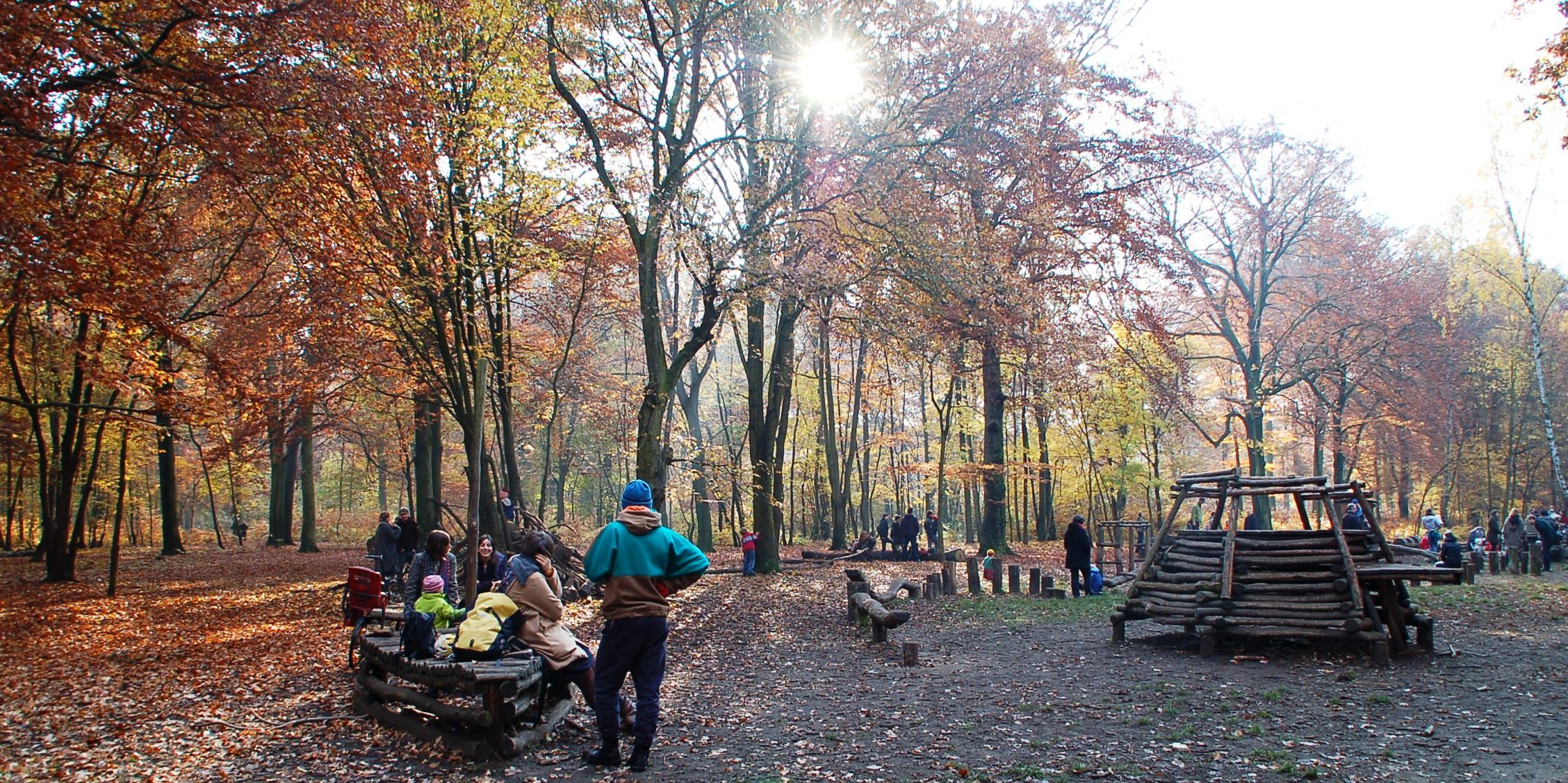 Leikkipuistona Berliini