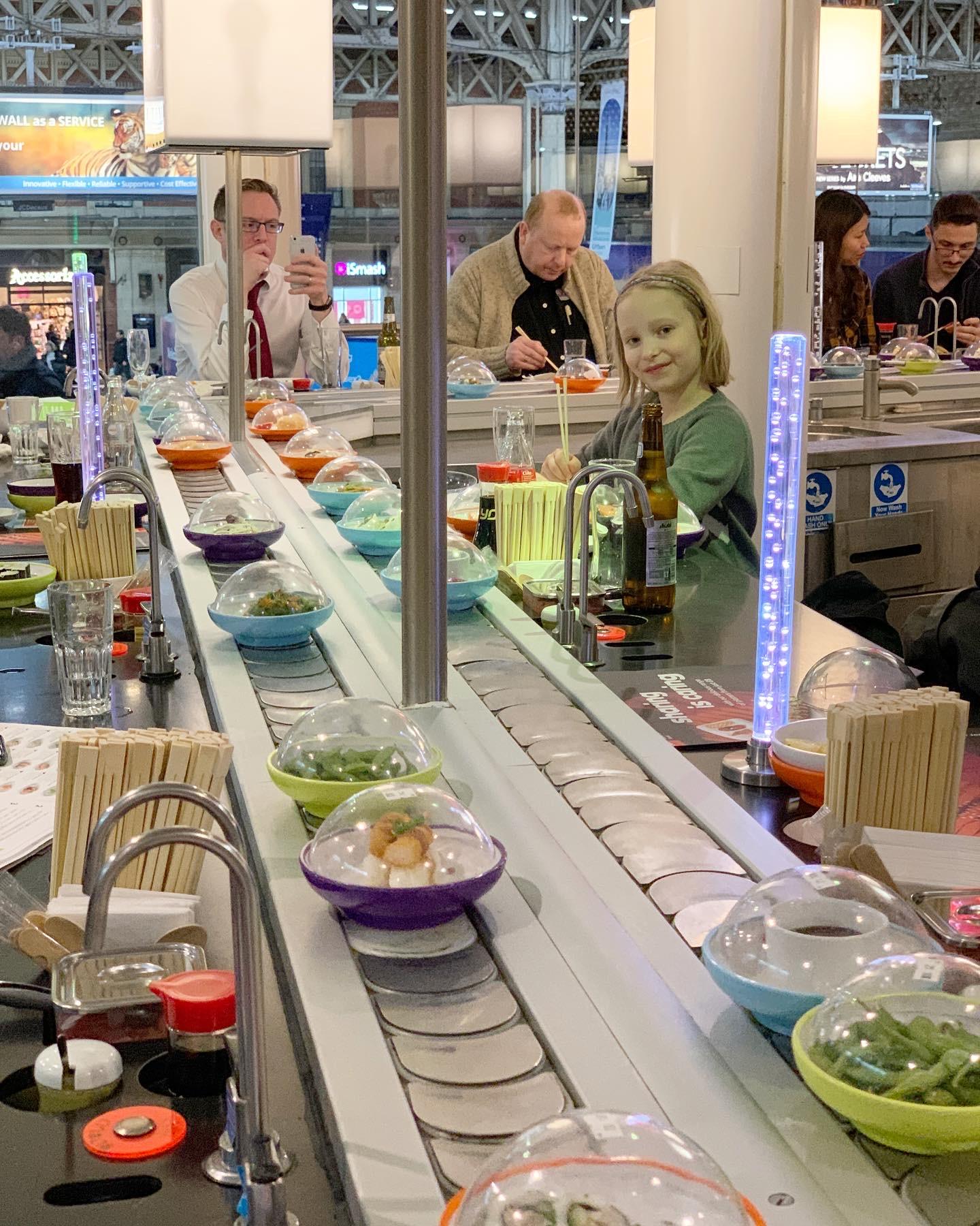 London Yo Sushi