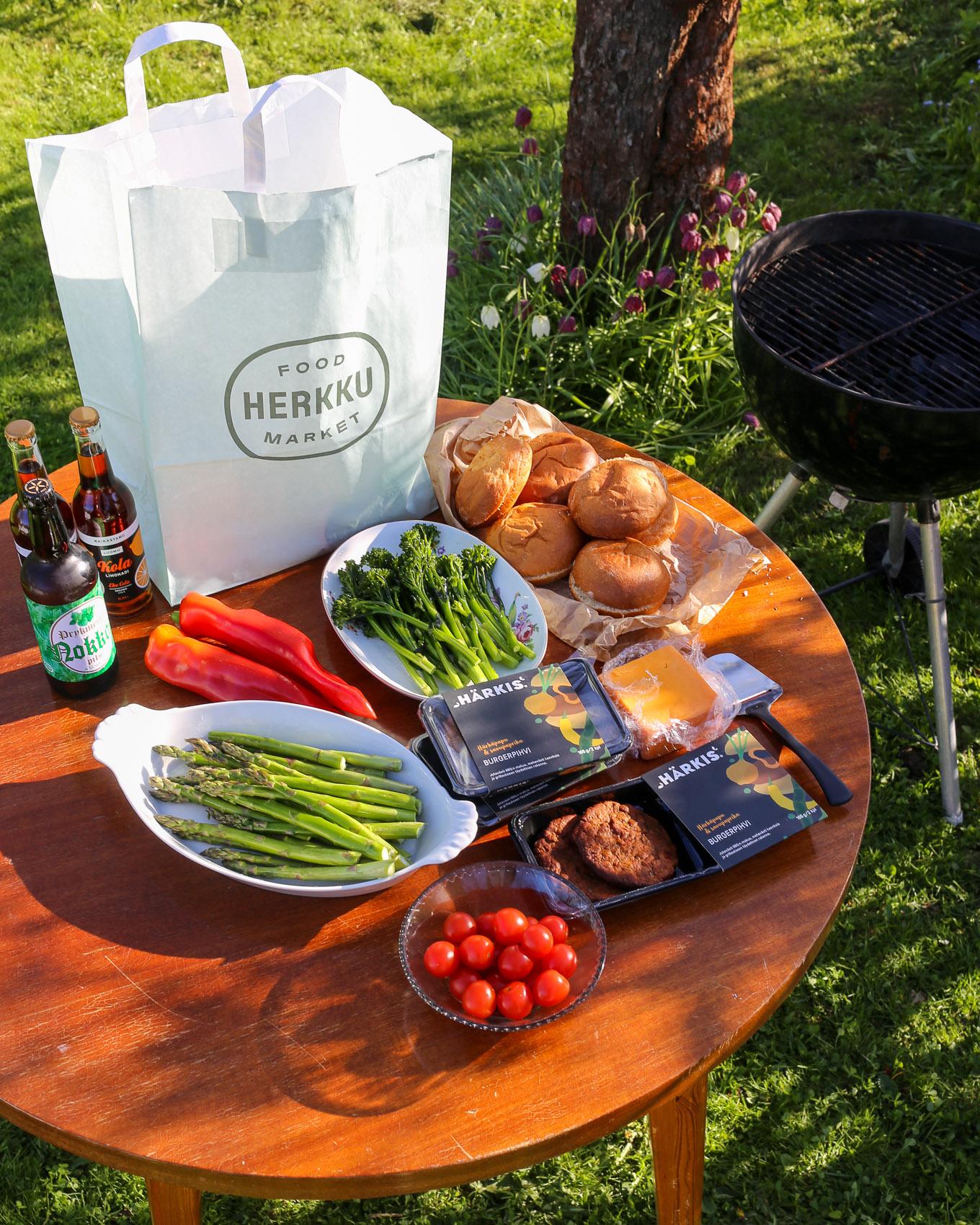 Food Market Herkku - Grillikausi