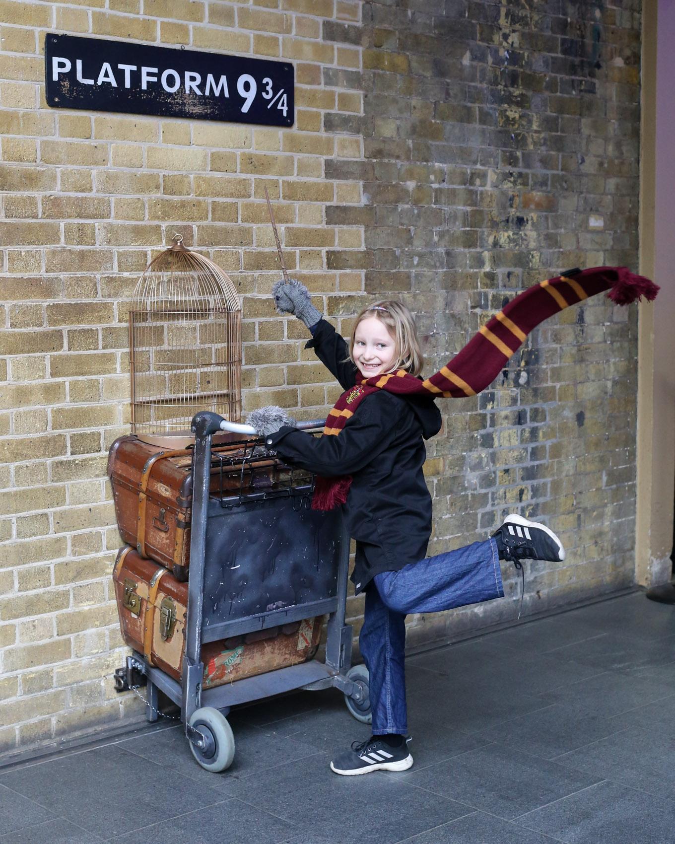 Harry Potterin perässä Lontoossa