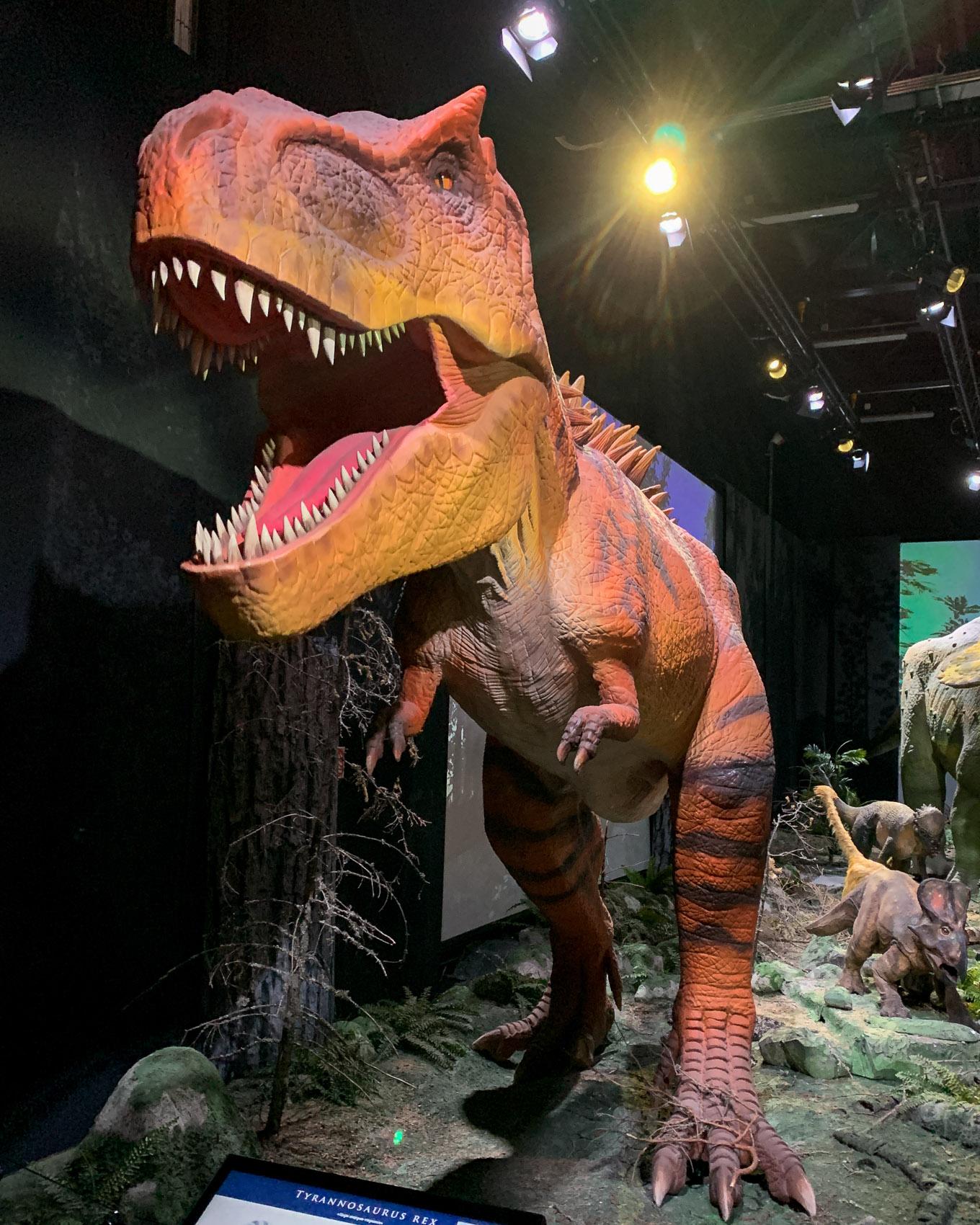 Heureka! Jättimäiset dinosaurukset ja aivot narikkaan!
