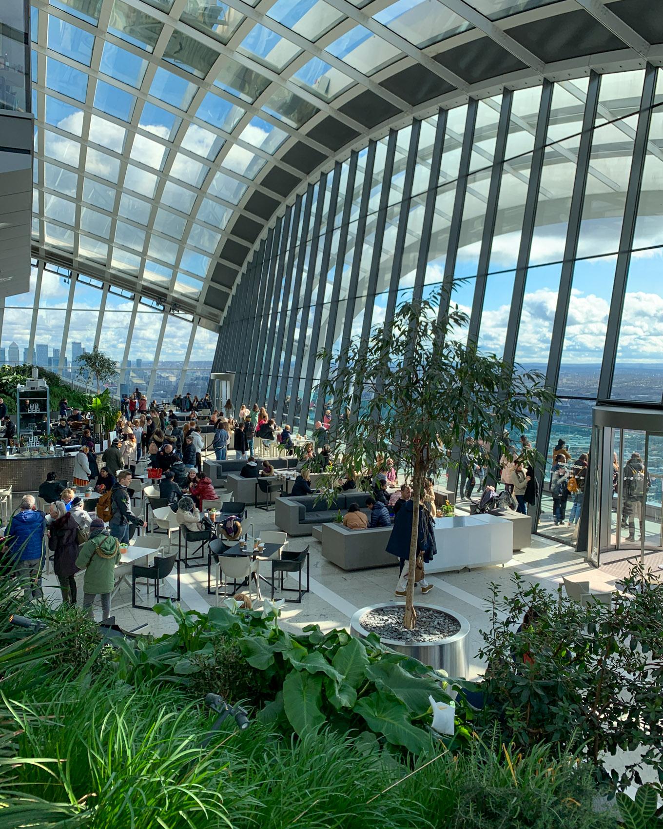 Sky Garden: Lontoon paras näköalapaikka