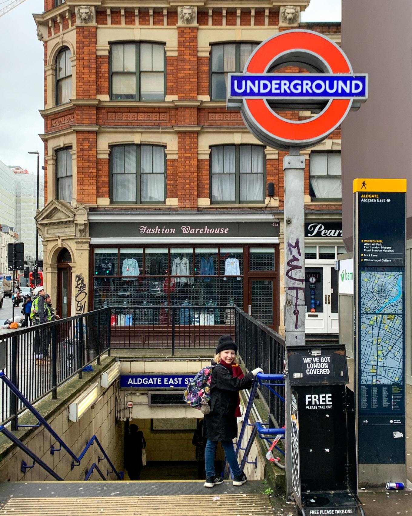 Lontoo - London - Aldgate East