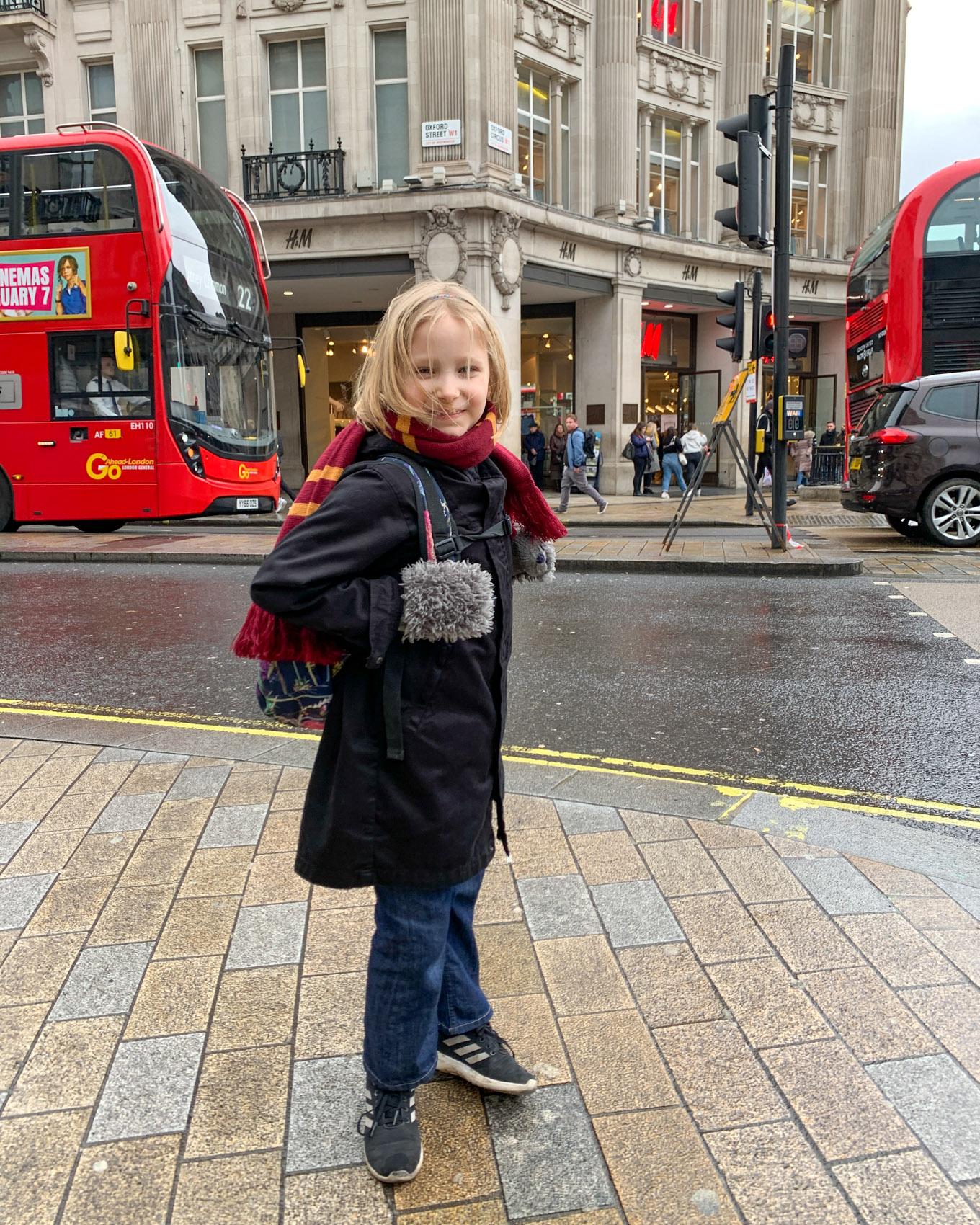 Isän ja tyttären matka Lontooseen