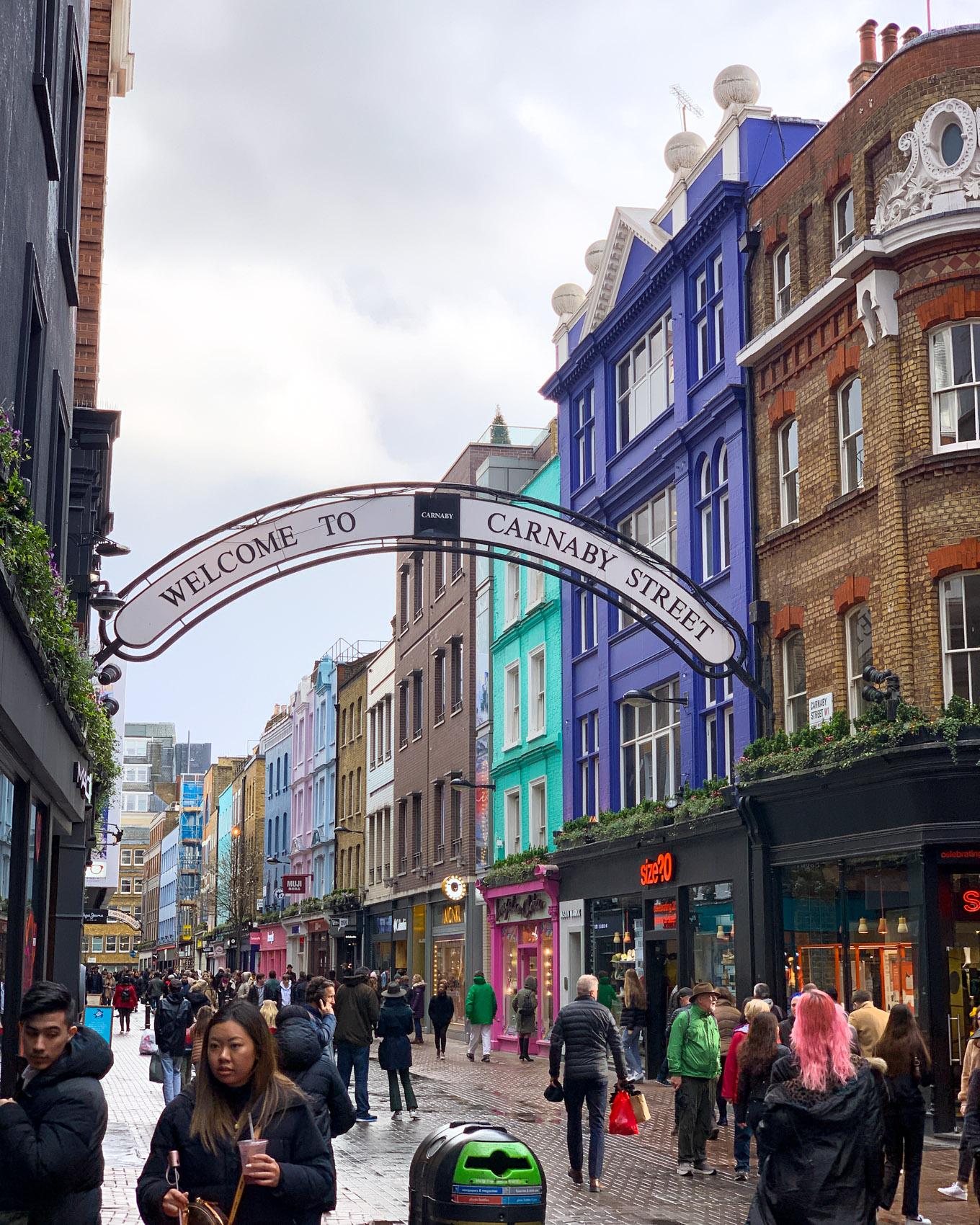 Lontoo - London - Carnaby Street