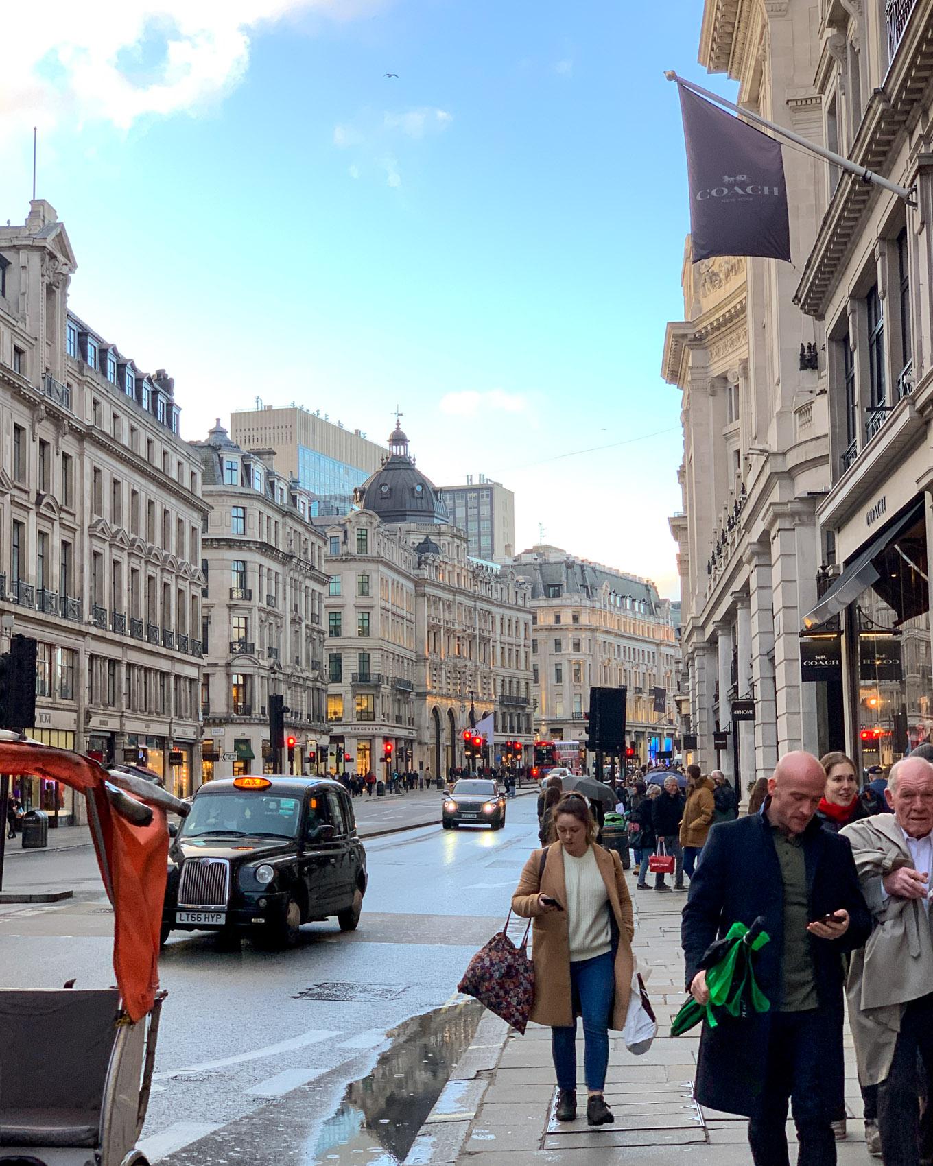 Lontoo - London - Regent Street