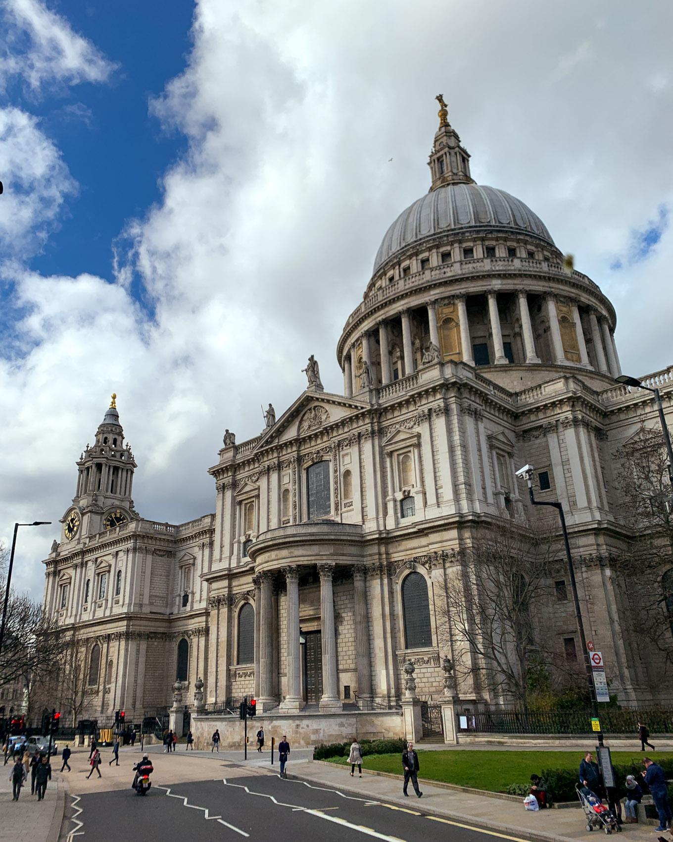 Lontoo - London - St. Paul's-1