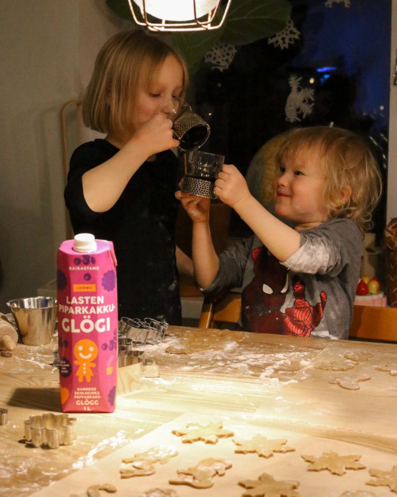 Raikastamo - Lasten piparkakkuglögi
