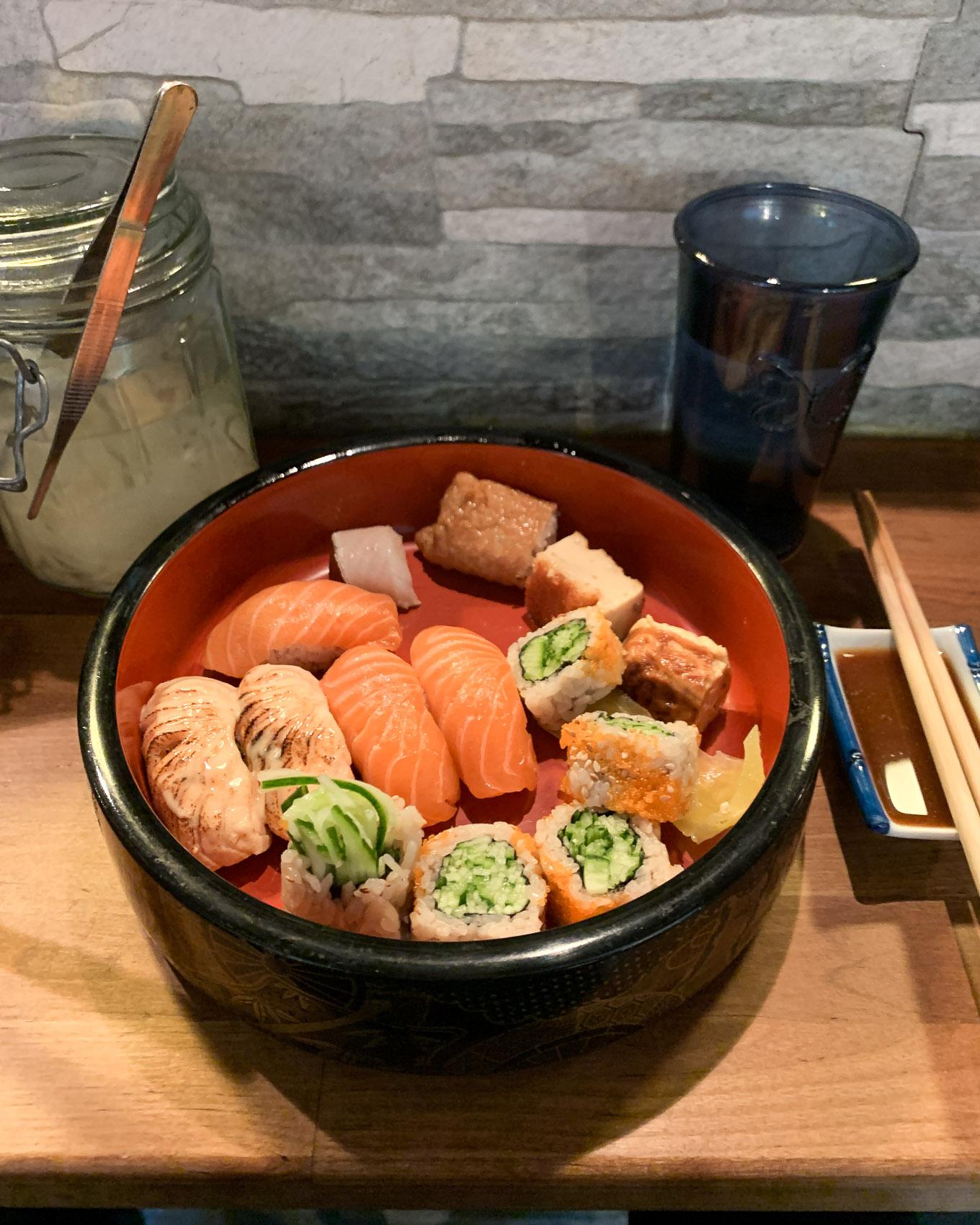 Tampere sushi Umami