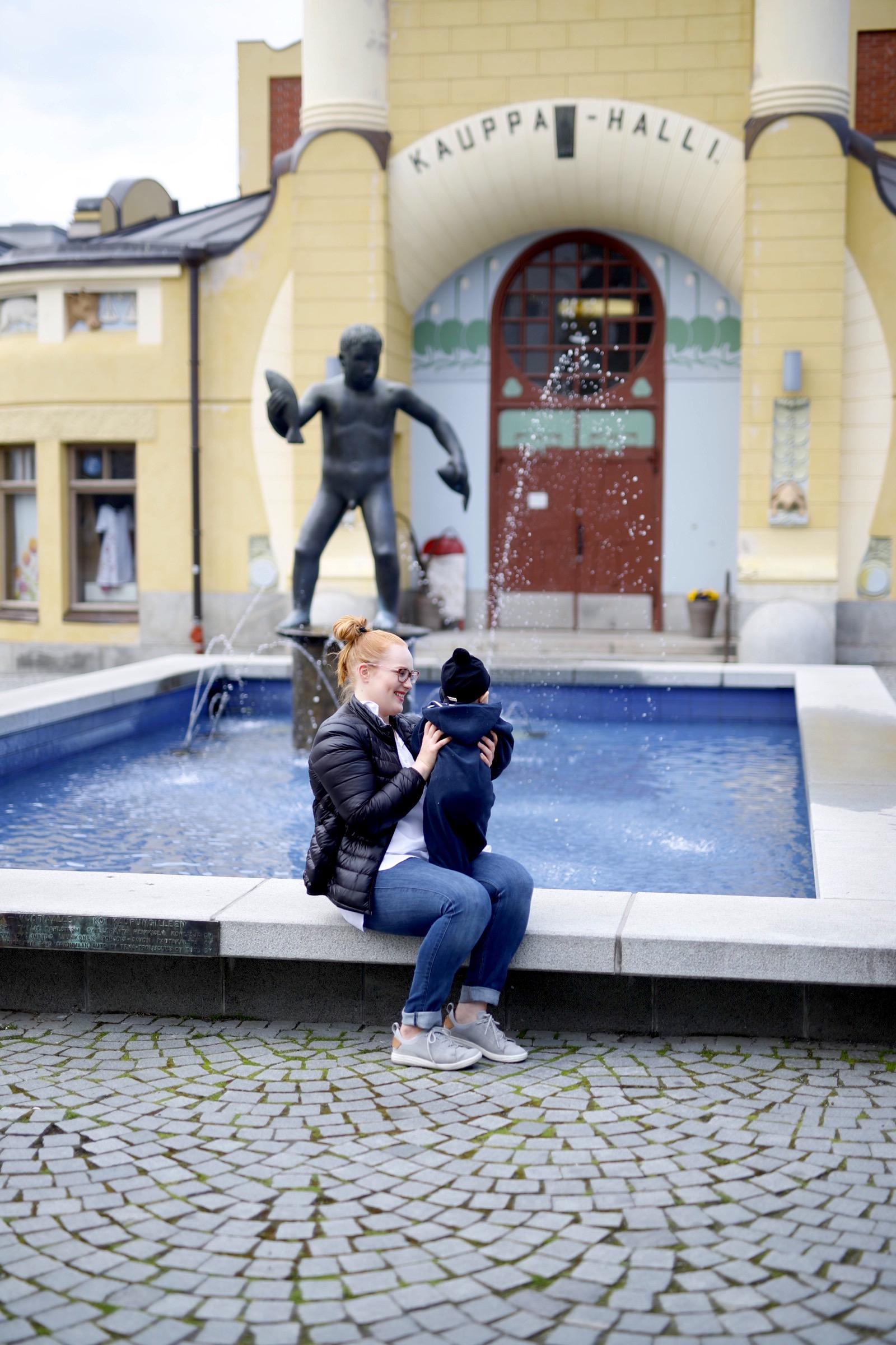 Vauvan kanssa Kuopioon