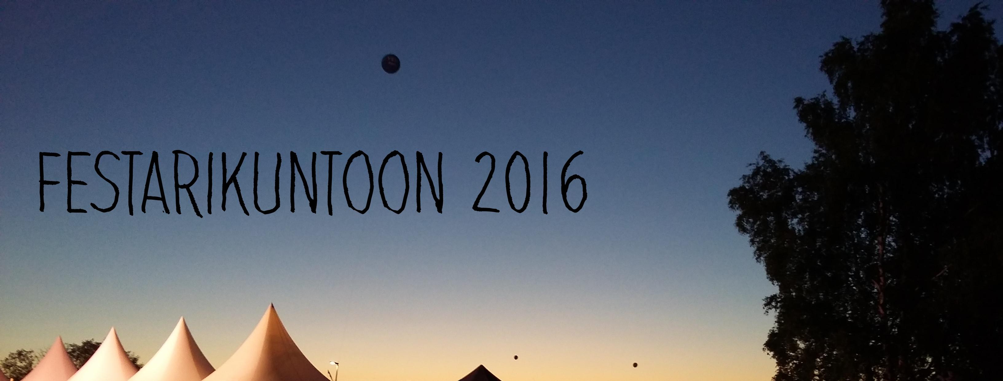 Festarikuntoon 2016