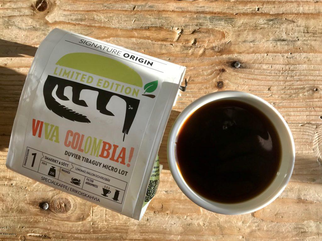 Kupponen: Johan&Nyströmin Viva Colombia! -trilogian viimeisessä kahvissa maistuvat sitrus ja marjat
