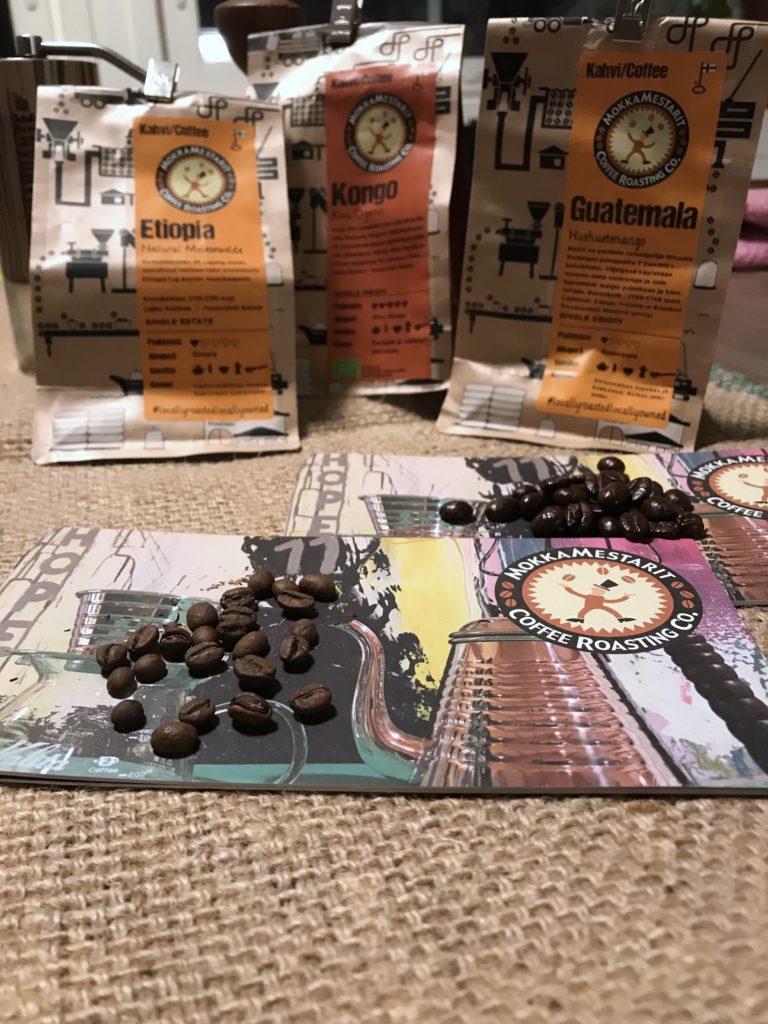Kupponen: Mokkamestareiden kahveja