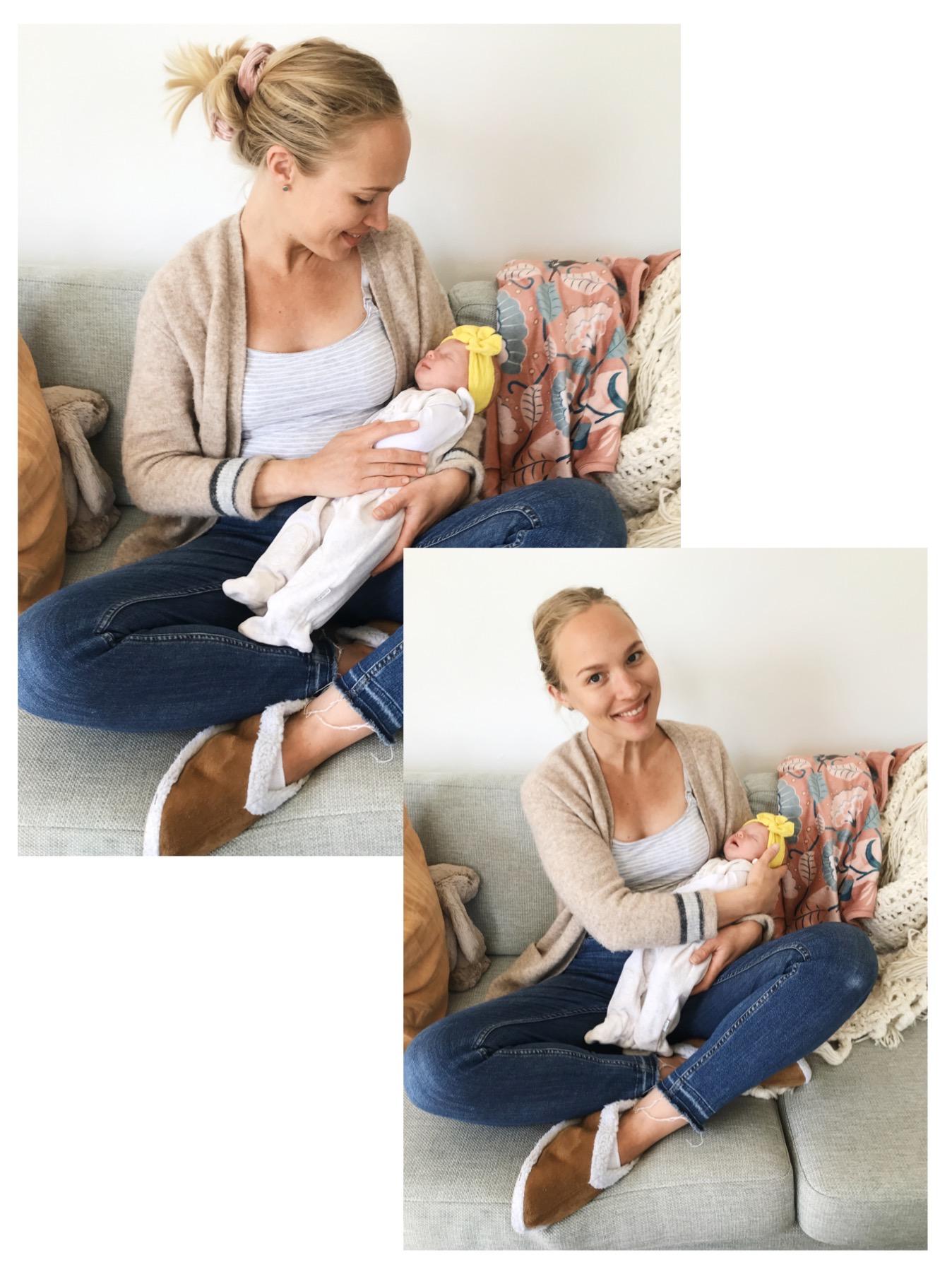 Kahden viikon kuulumiset vauvakuplasta
