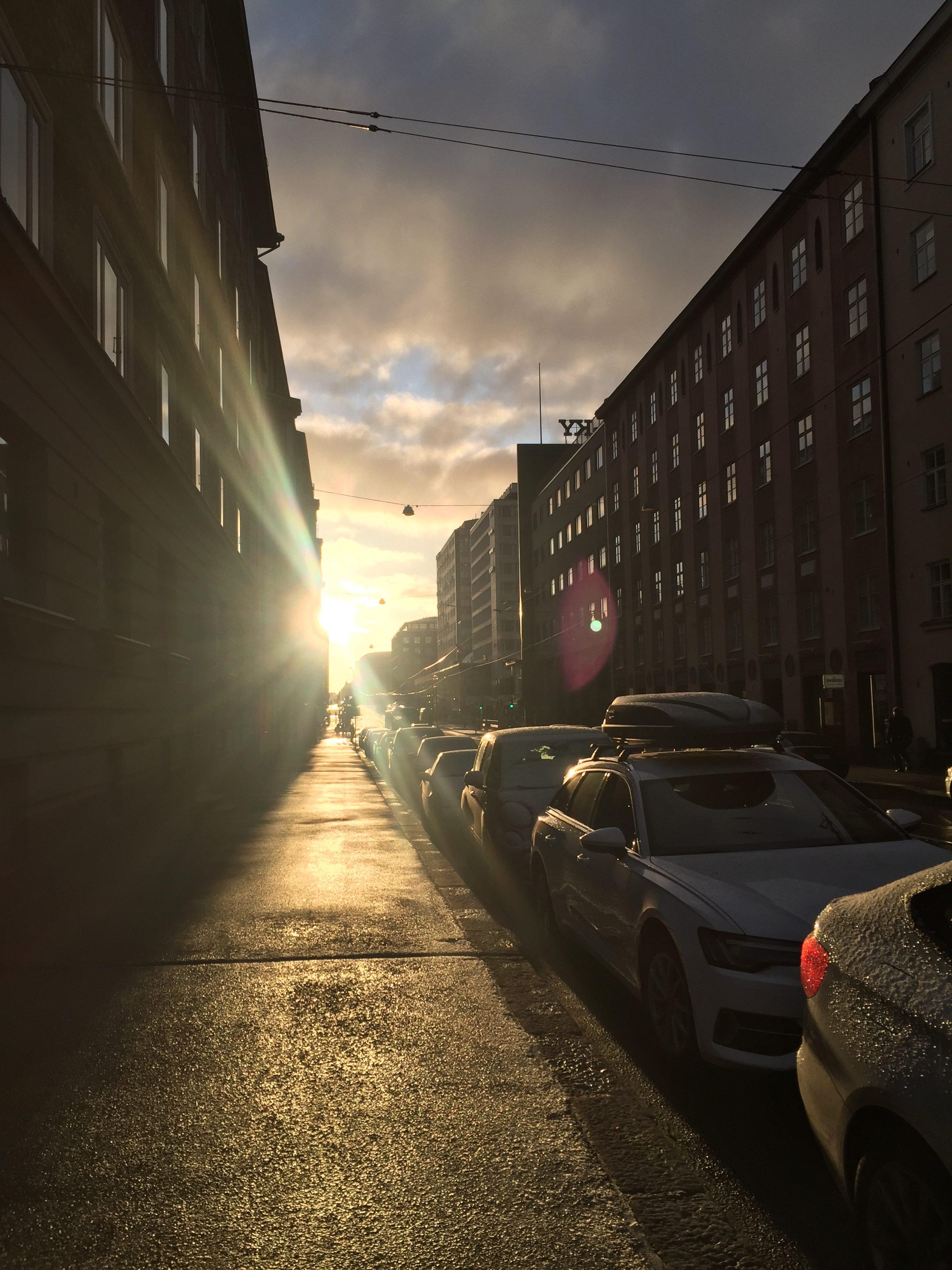 street-sun