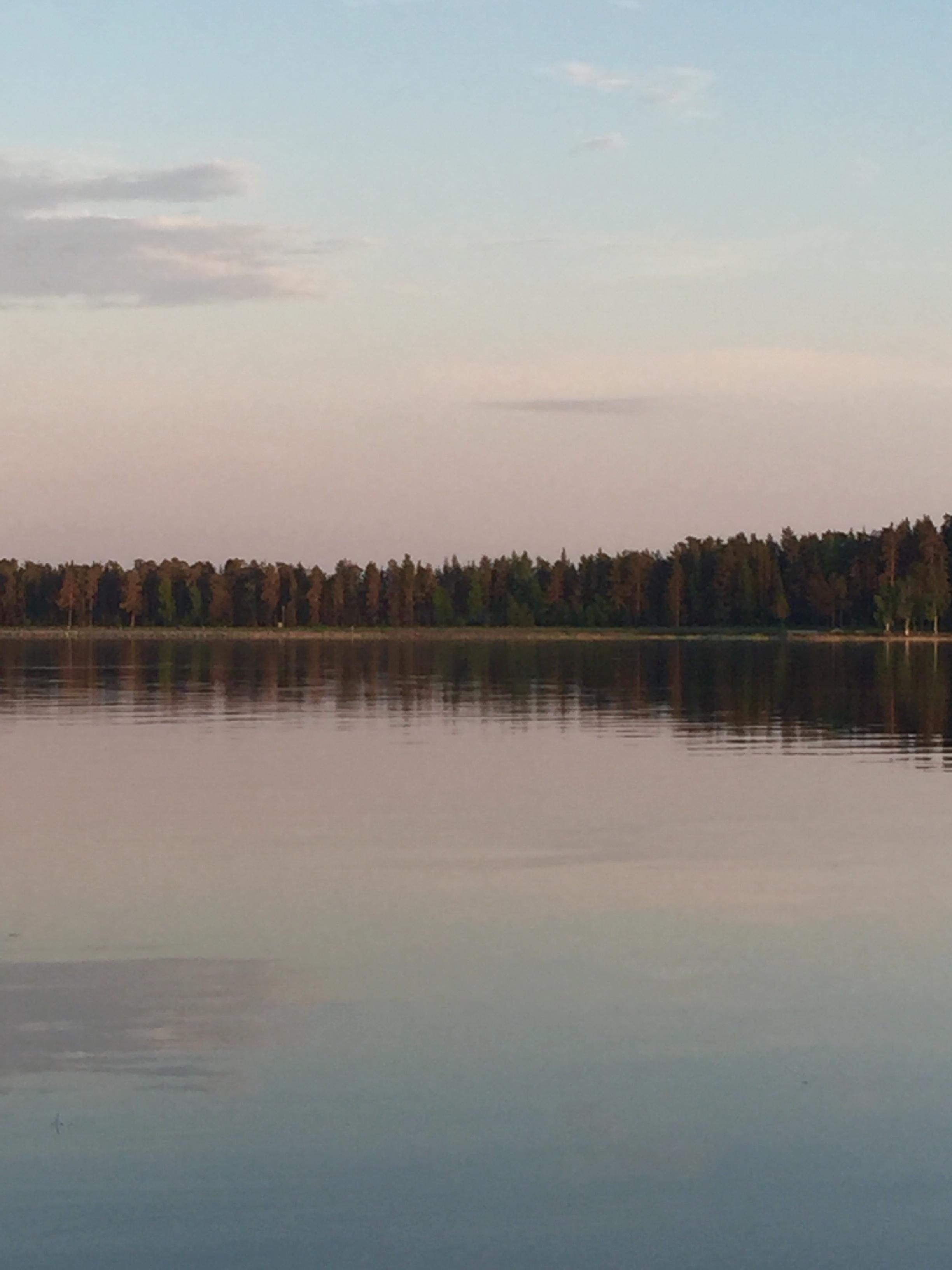 järvi_iltarusko_heijastus