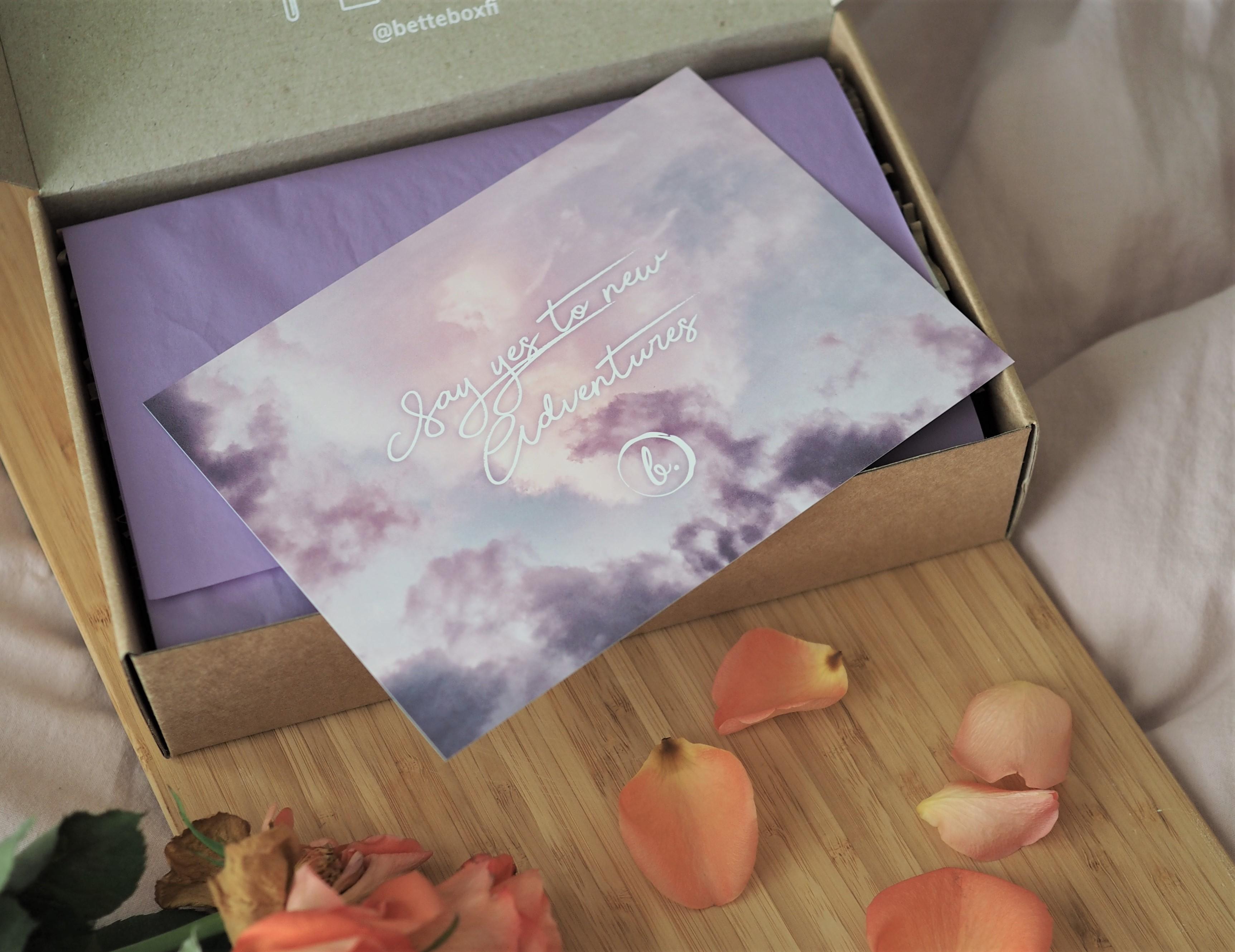 Bette box – syyskuu 2019 + alekoodi