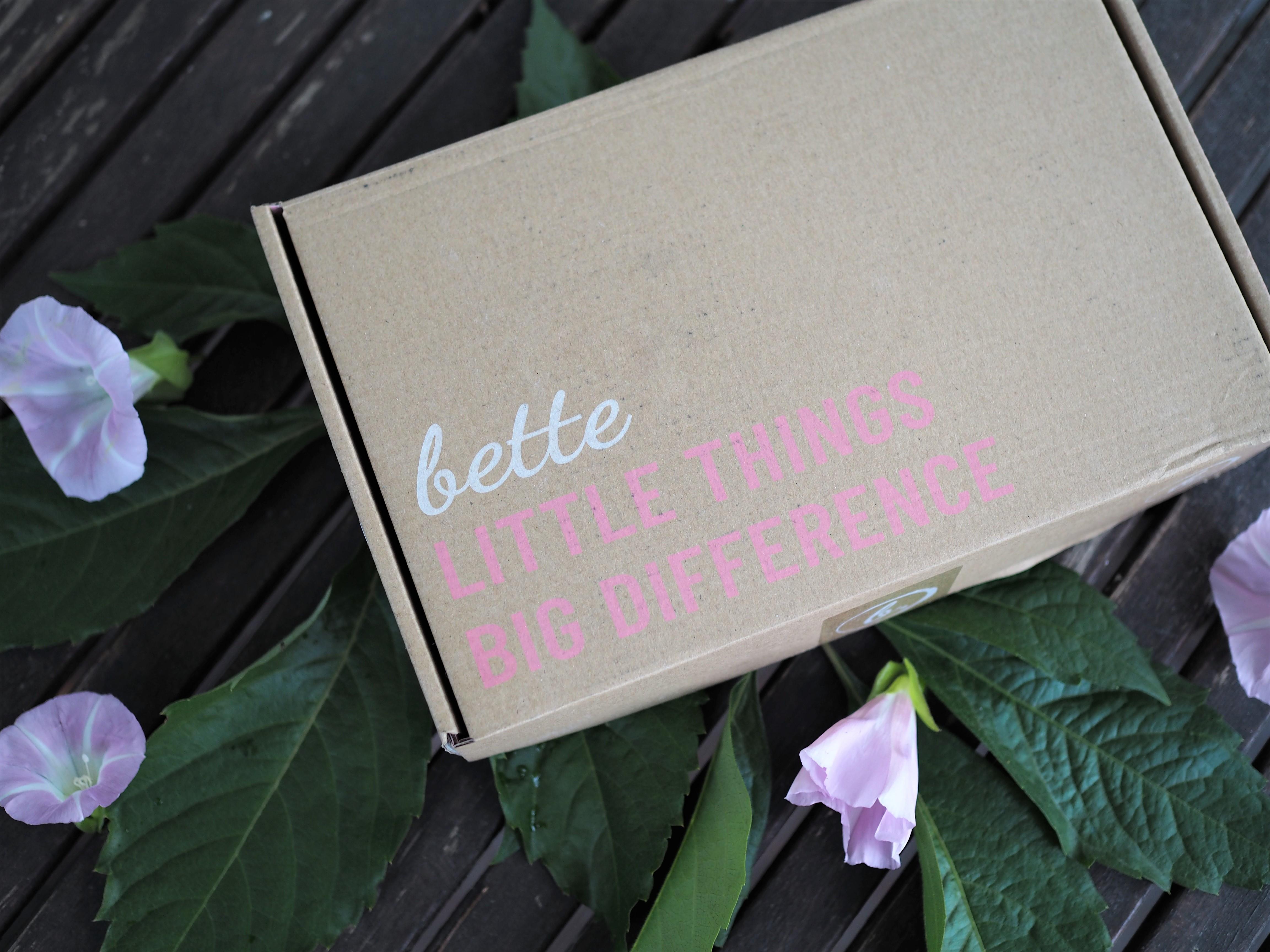 Bette box – heinäkuu 2019