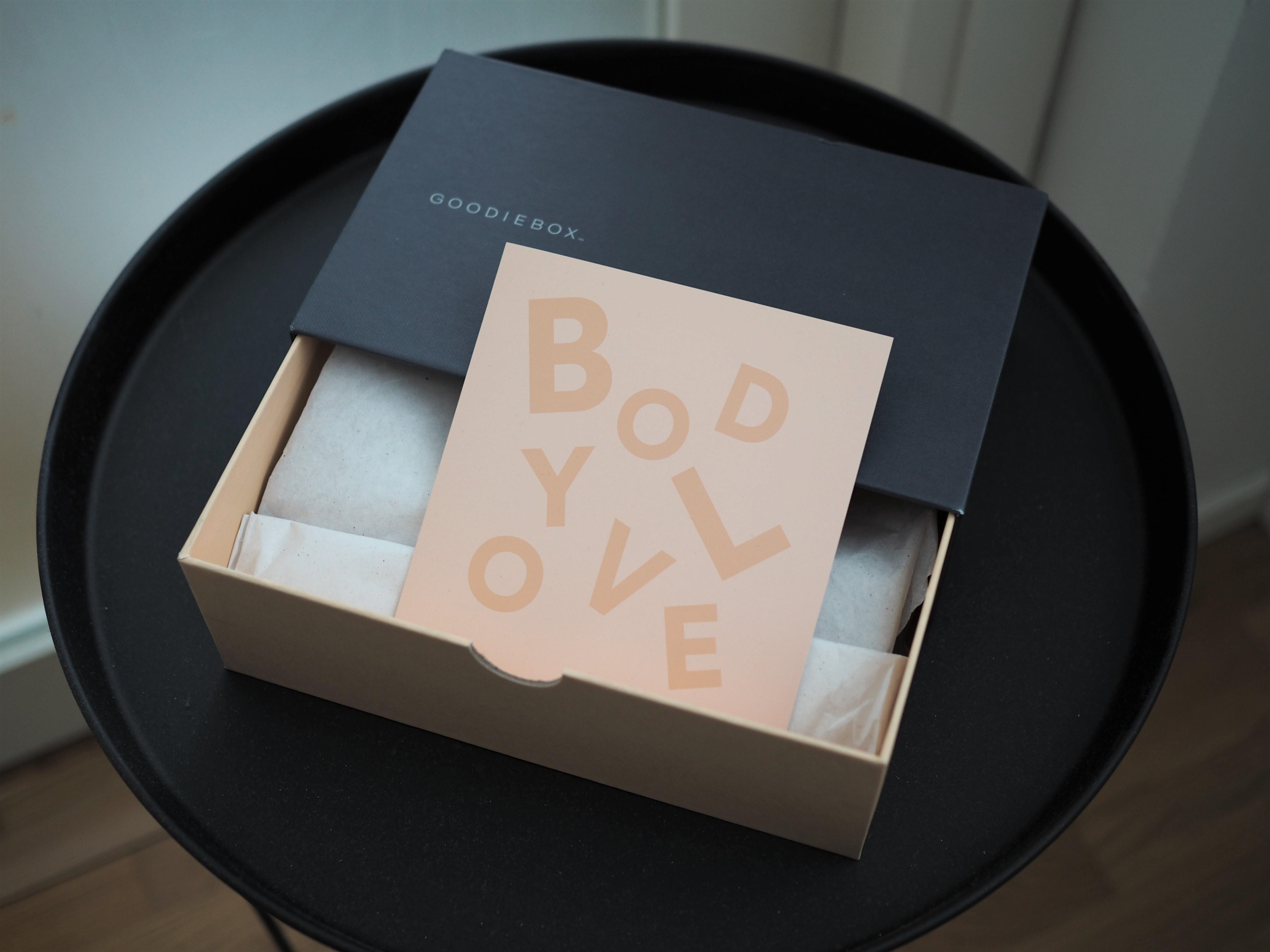 Ensimmäinen Goodiebox – teemana body love