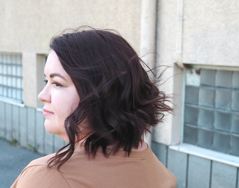 Päivän asu ja päivitetyt hiukset