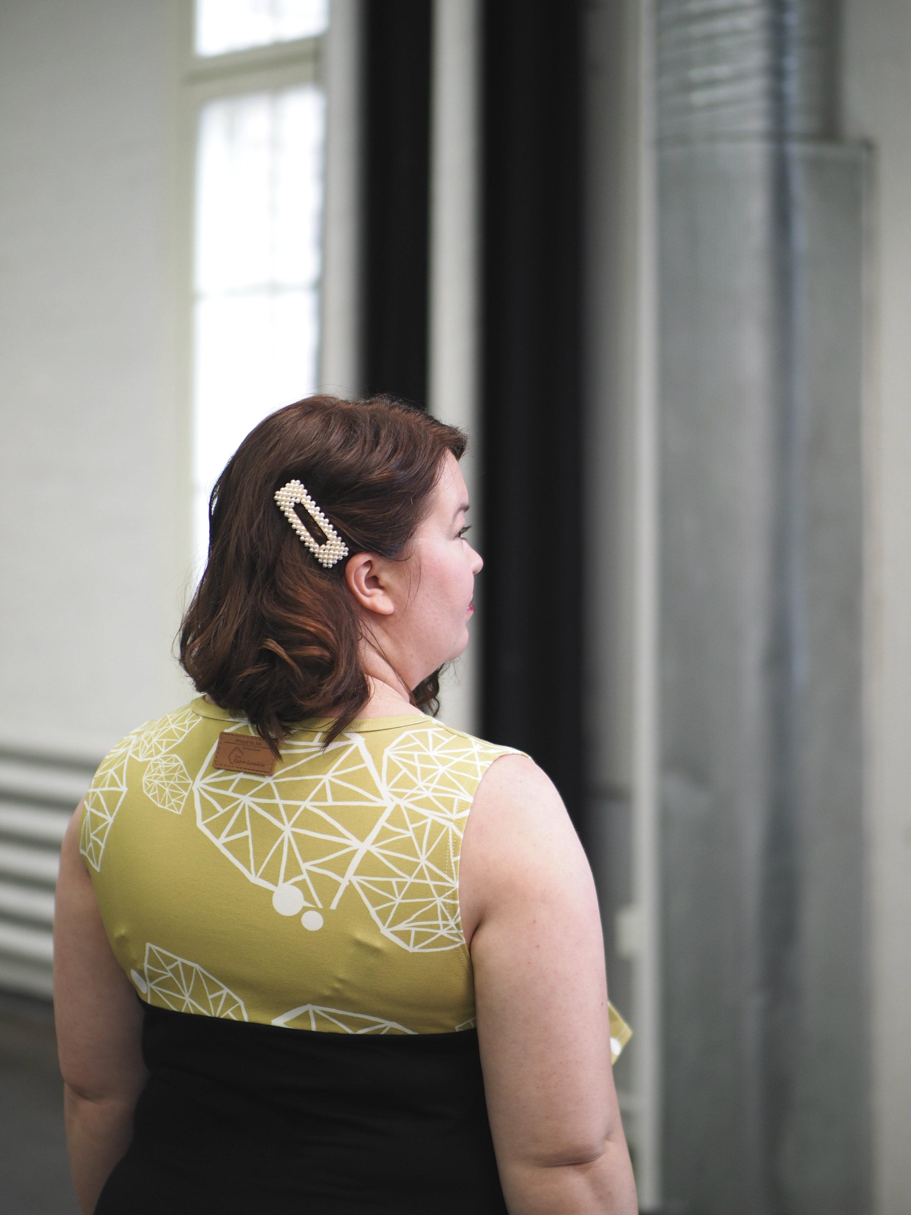 Ihana mekko, keltainen Kanto Design
