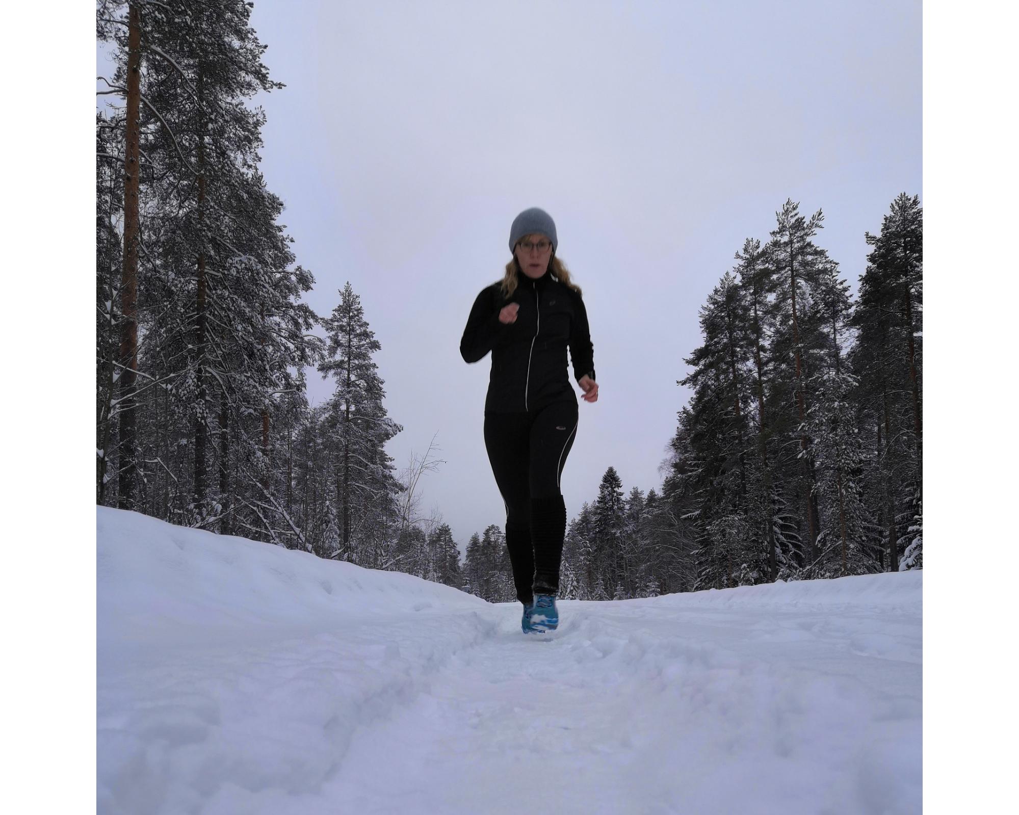 Lumista elämää viikolla 5 ja tammikuun treenit
