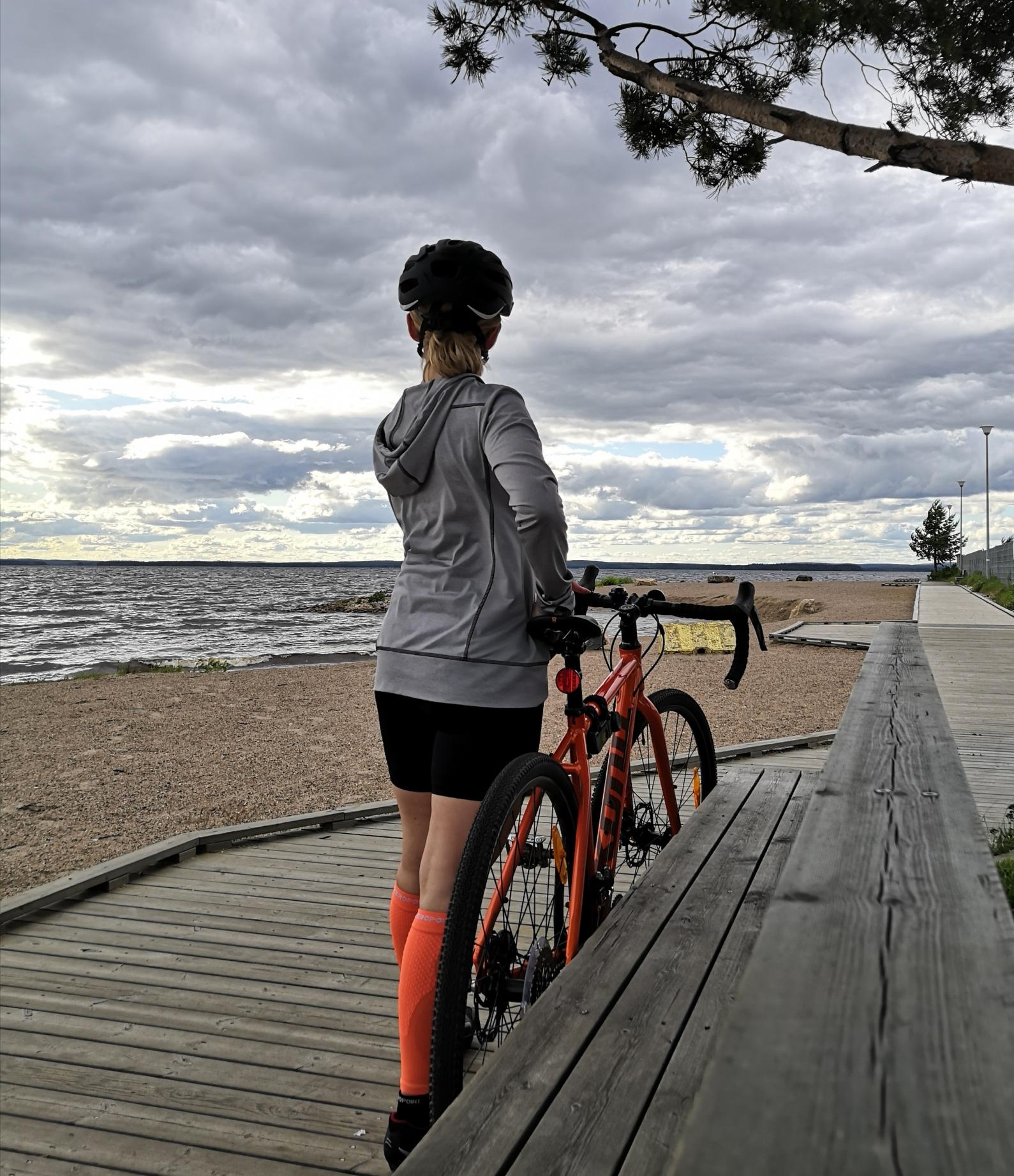 Korvaavaa treeniä pyöräillen viikolla 24
