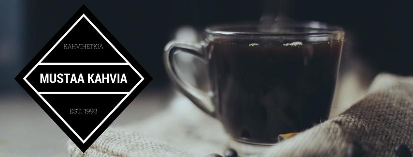 Mustaa kahvia