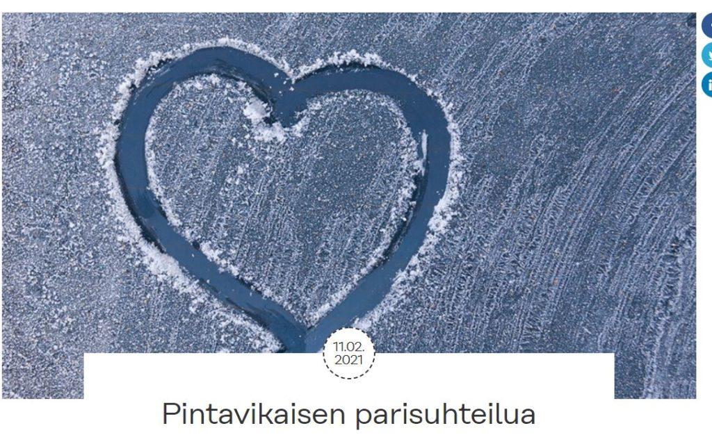 Psori.fi:n sivuilta postaukseni: Pintavikaisten parisuhteilua