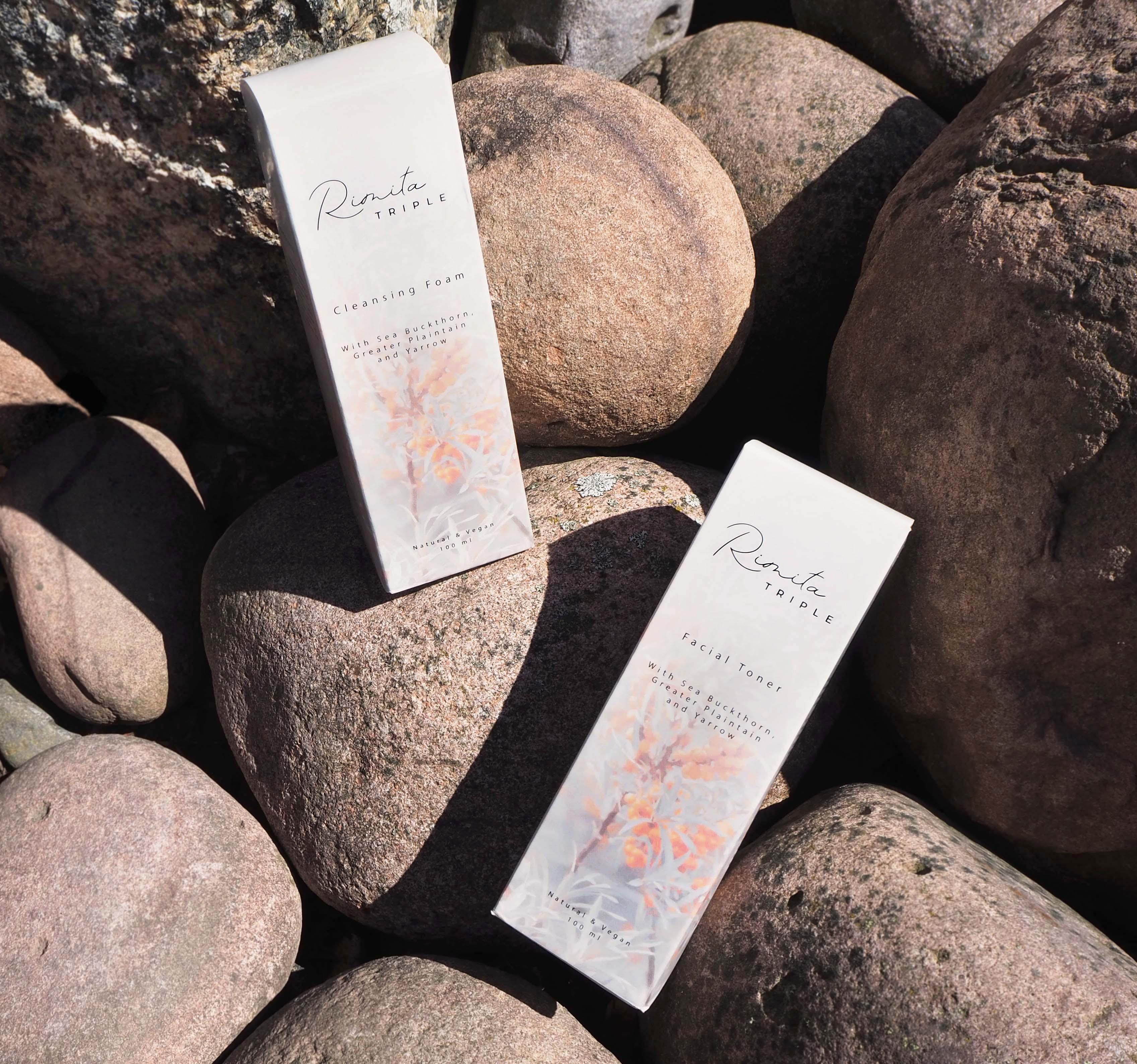 Luonnolliset RimitaTriple-ihonpuhdistustuotteet (sis. alekoodin)