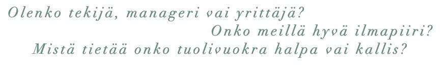 TEKIJÄNSÄ NÄKÖINEN – Out now!