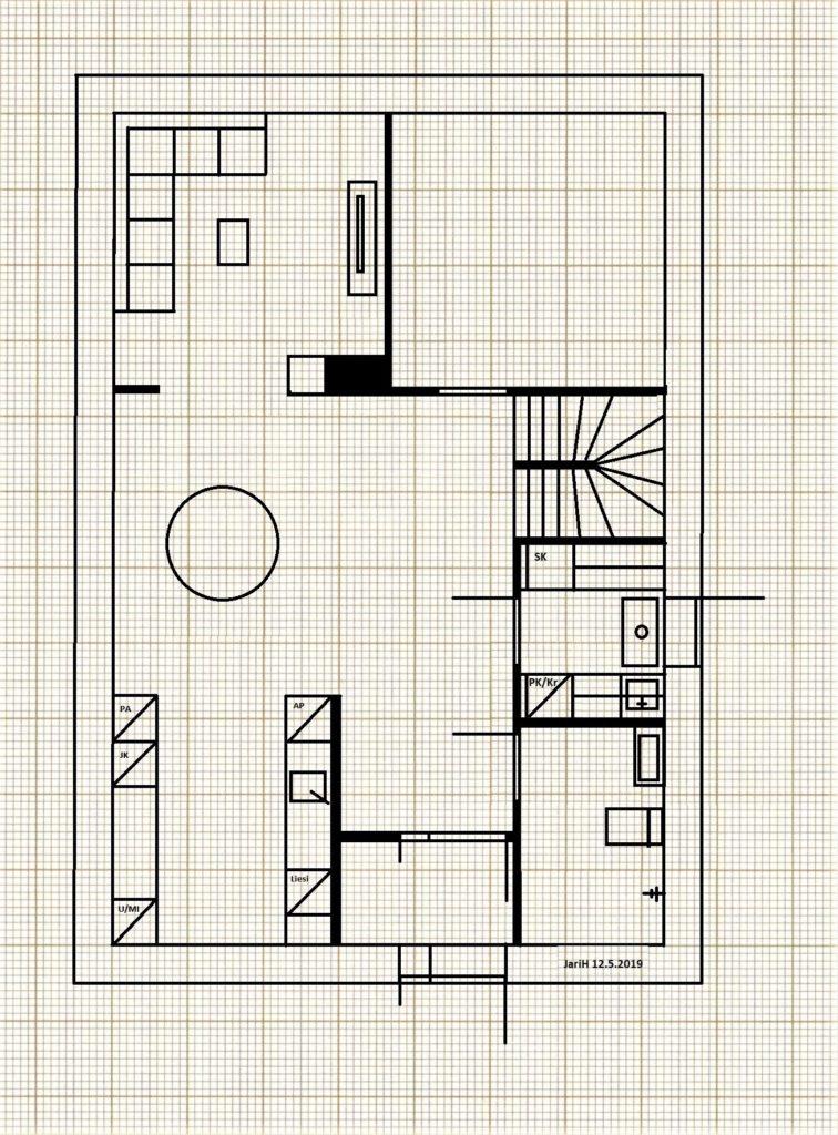 Open-concept ja plan