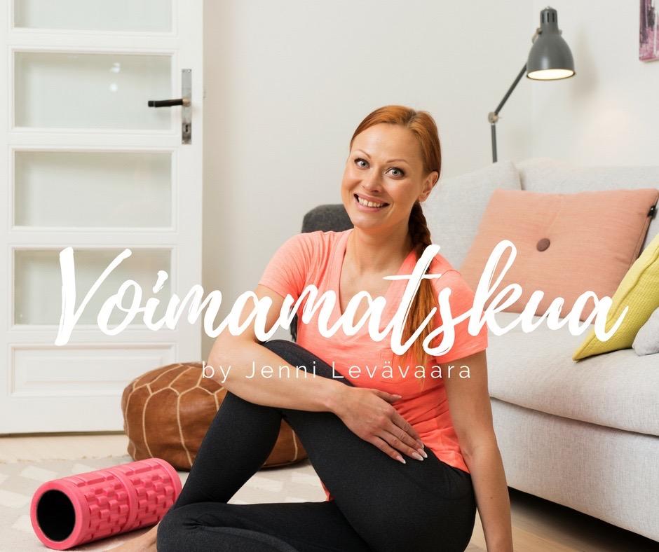 Voimamatskua by Jenni Levävaara