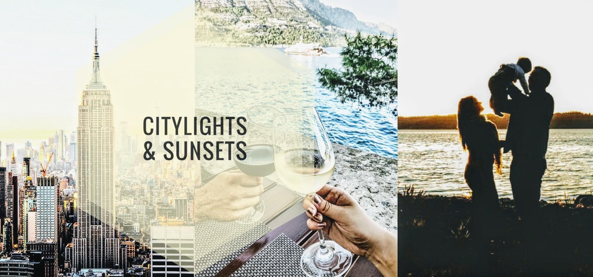 Citylights & sunsets
